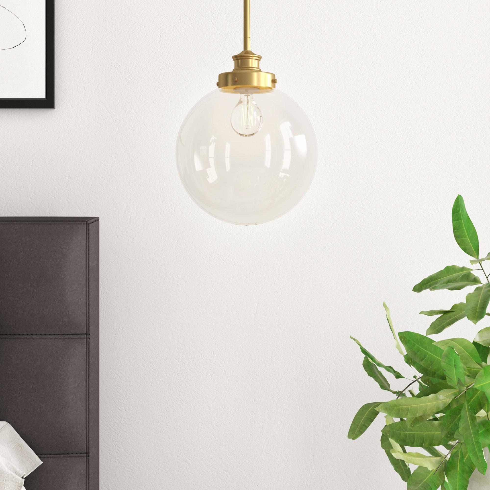 Cayden 1 Light Single Globe Pendant Regarding Preferred Betsy 1 Light Single Globe Pendants (View 5 of 20)