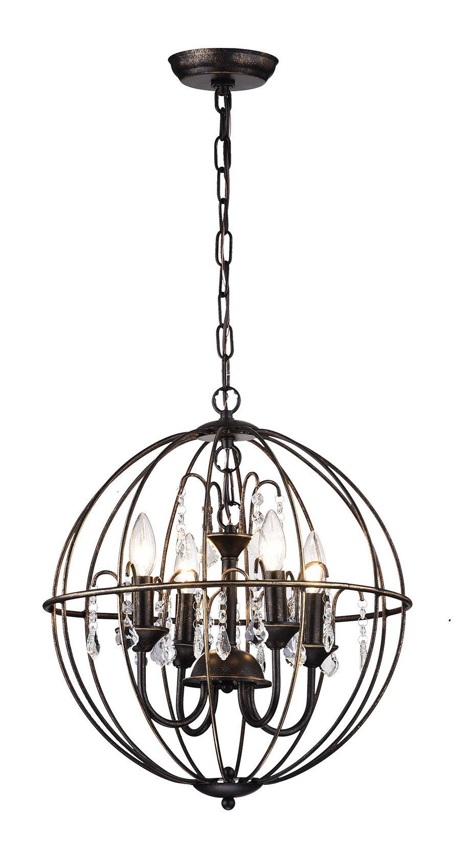 Chandelier Regarding Current Donna 6 Light Globe Chandeliers (Gallery 17 of 20)