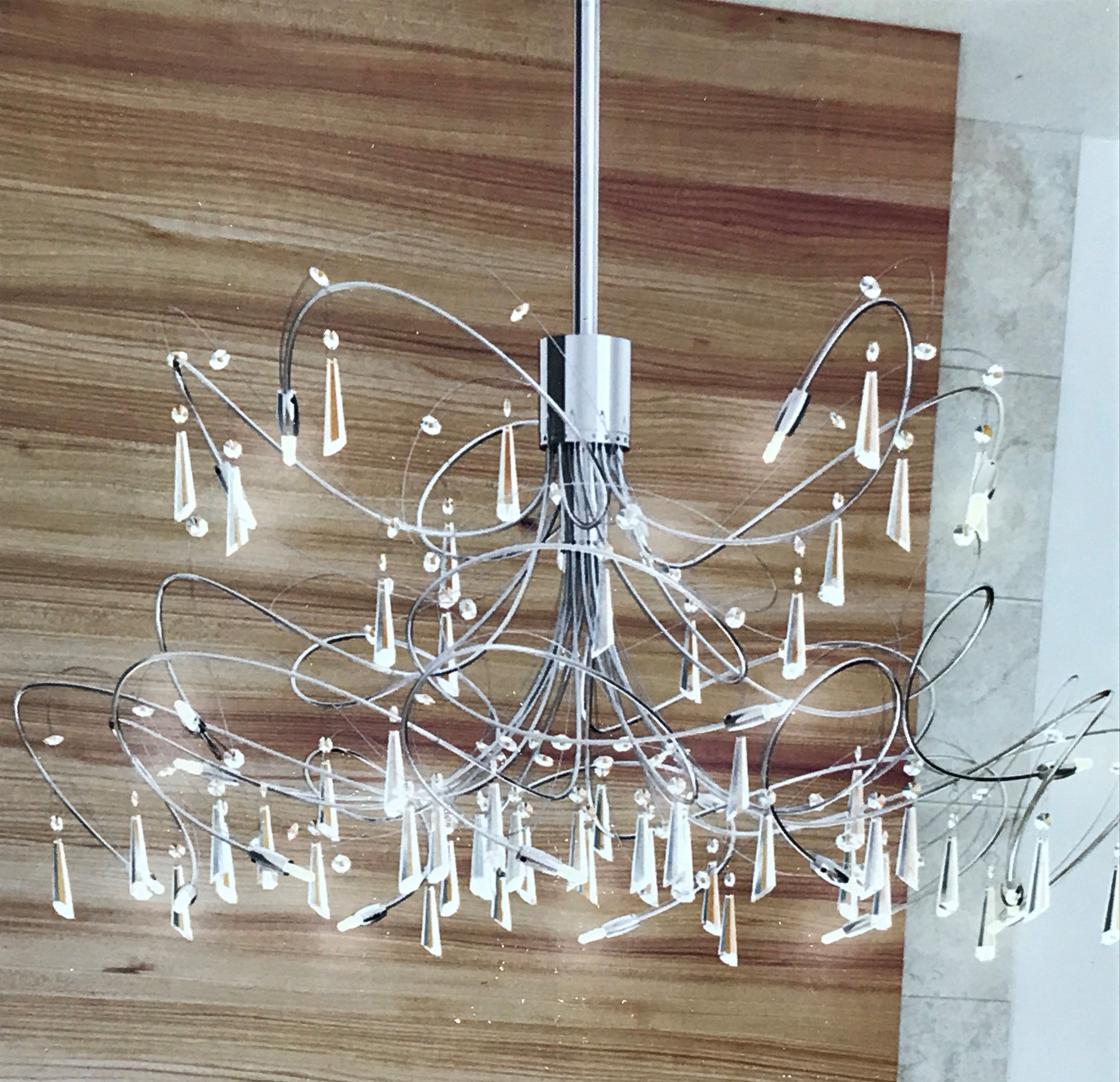 Chandelier With Houon 1 Light Cone Bell Pendants (Gallery 19 of 20)