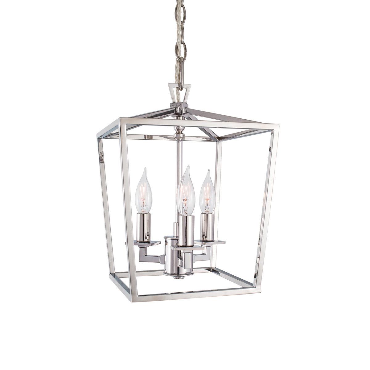 Charlton Home Rojo 3 Light Lantern Pendant & Reviews (Gallery 9 of 20)