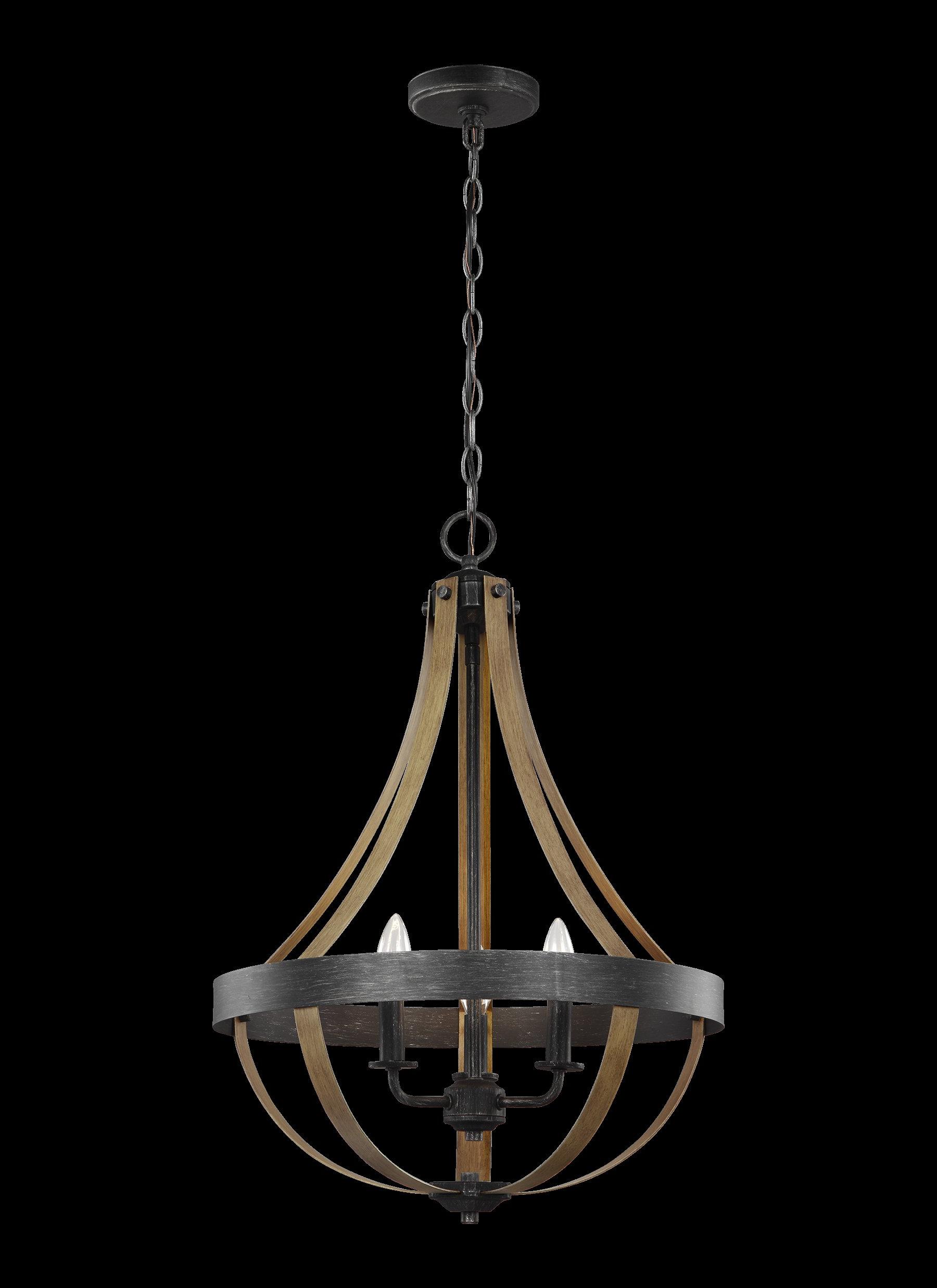Charlton Home Van Horne 3 Light Single Teardrop Pendant Pertaining To Preferred Van Horne 3 Light Single Teardrop Pendants (Gallery 2 of 20)