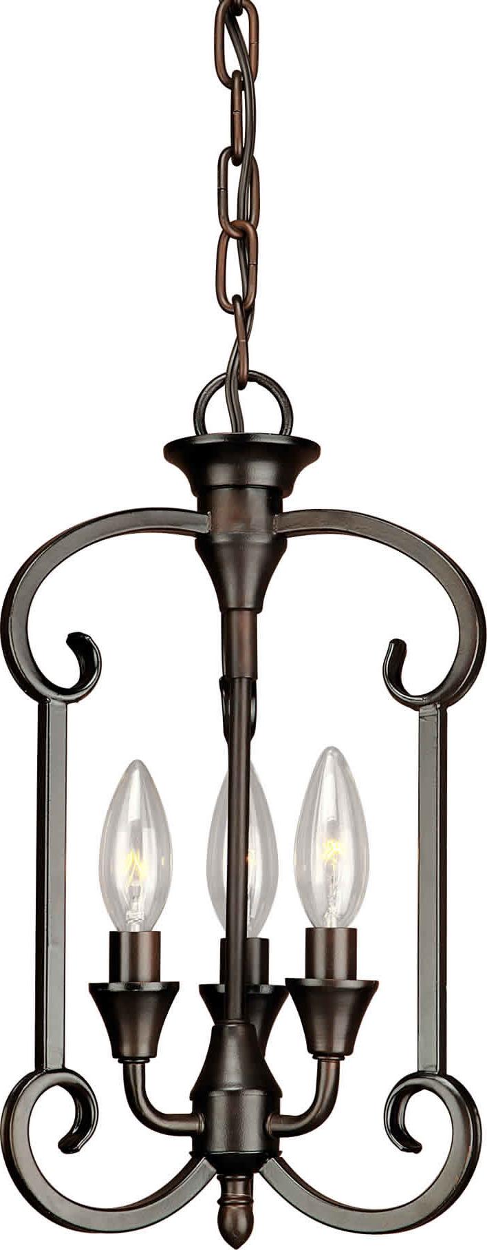 Charlton Home Warner Robins 3 Light Lantern Pendant Regarding Well Liked Warner Robins 3 Light Lantern Pendants (View 3 of 20)