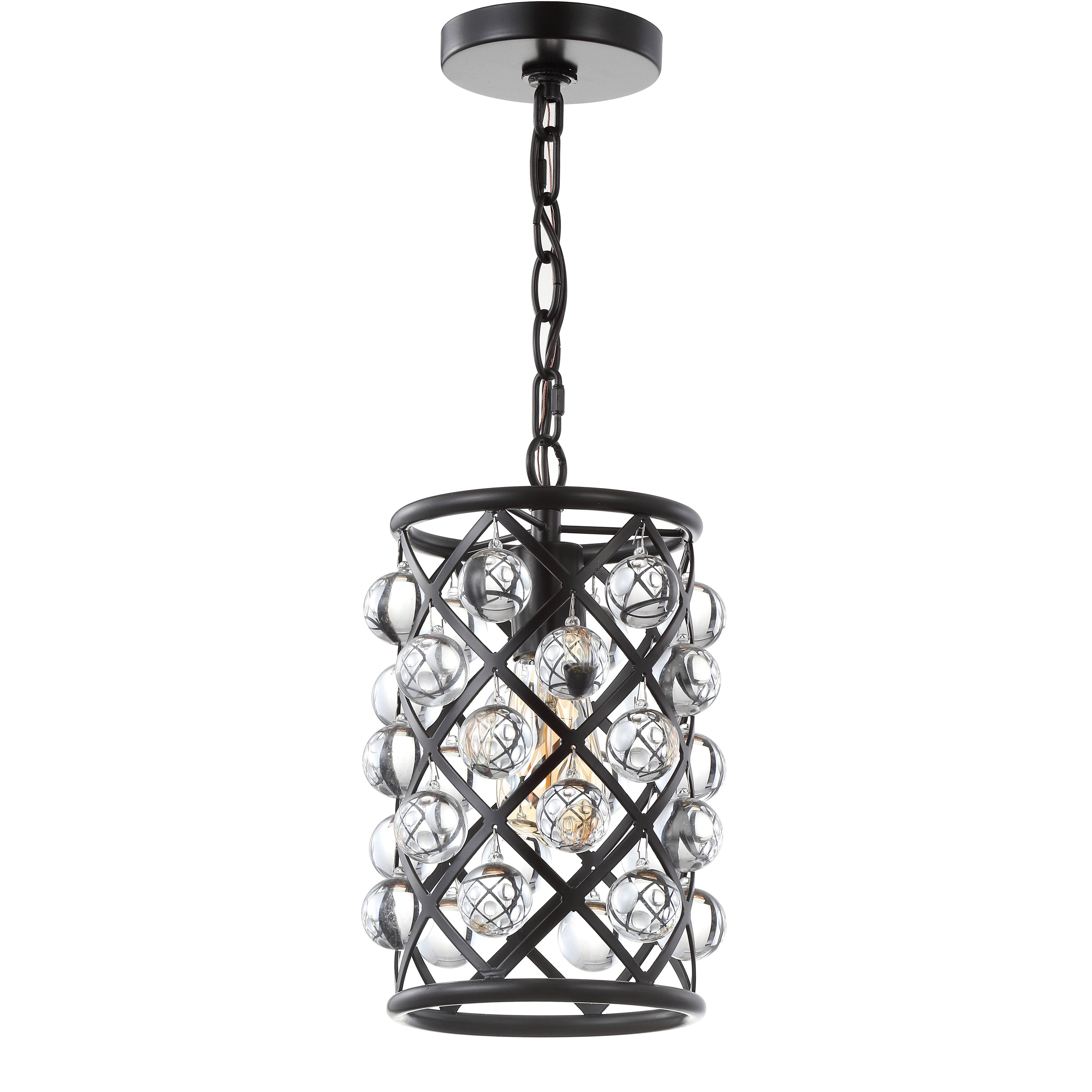 Chesler 1 Light Cylinder Pendant Throughout Well Liked Hurst 1 Light Single Cylinder Pendants (View 14 of 20)