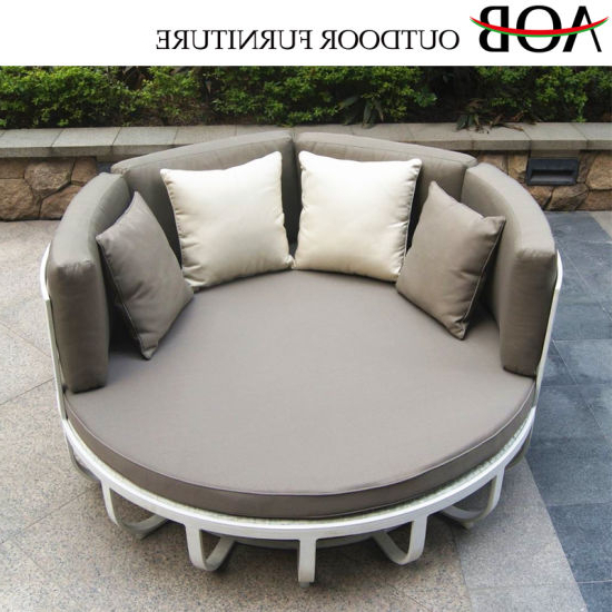 China Modern Outdoor Patio Home Balcony Resort Furniture Inside Well Known Resort Patio Daybeds (Gallery 13 of 20)