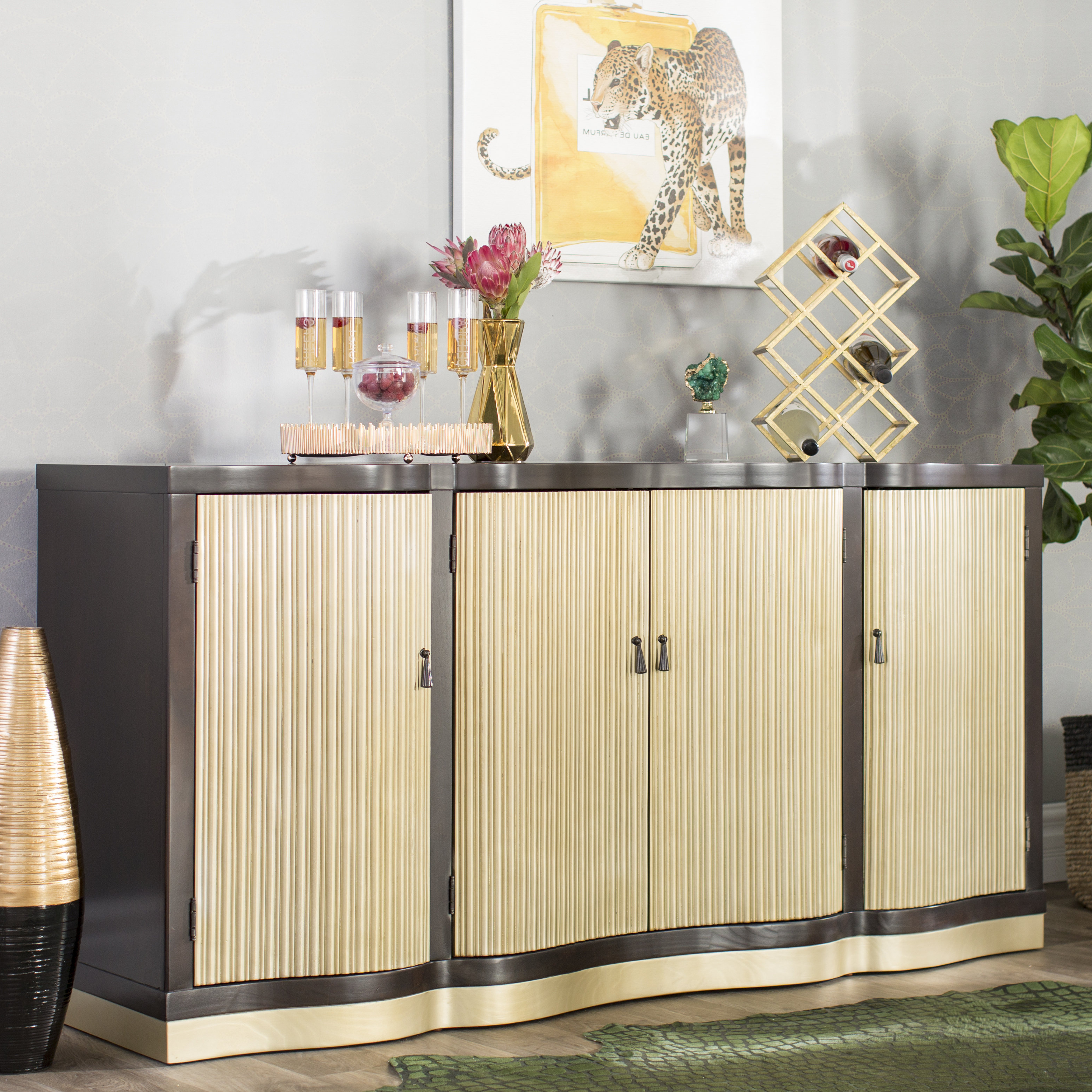 Choncey Sideboard Throughout Widely Used Wattisham Sideboards (View 3 of 20)