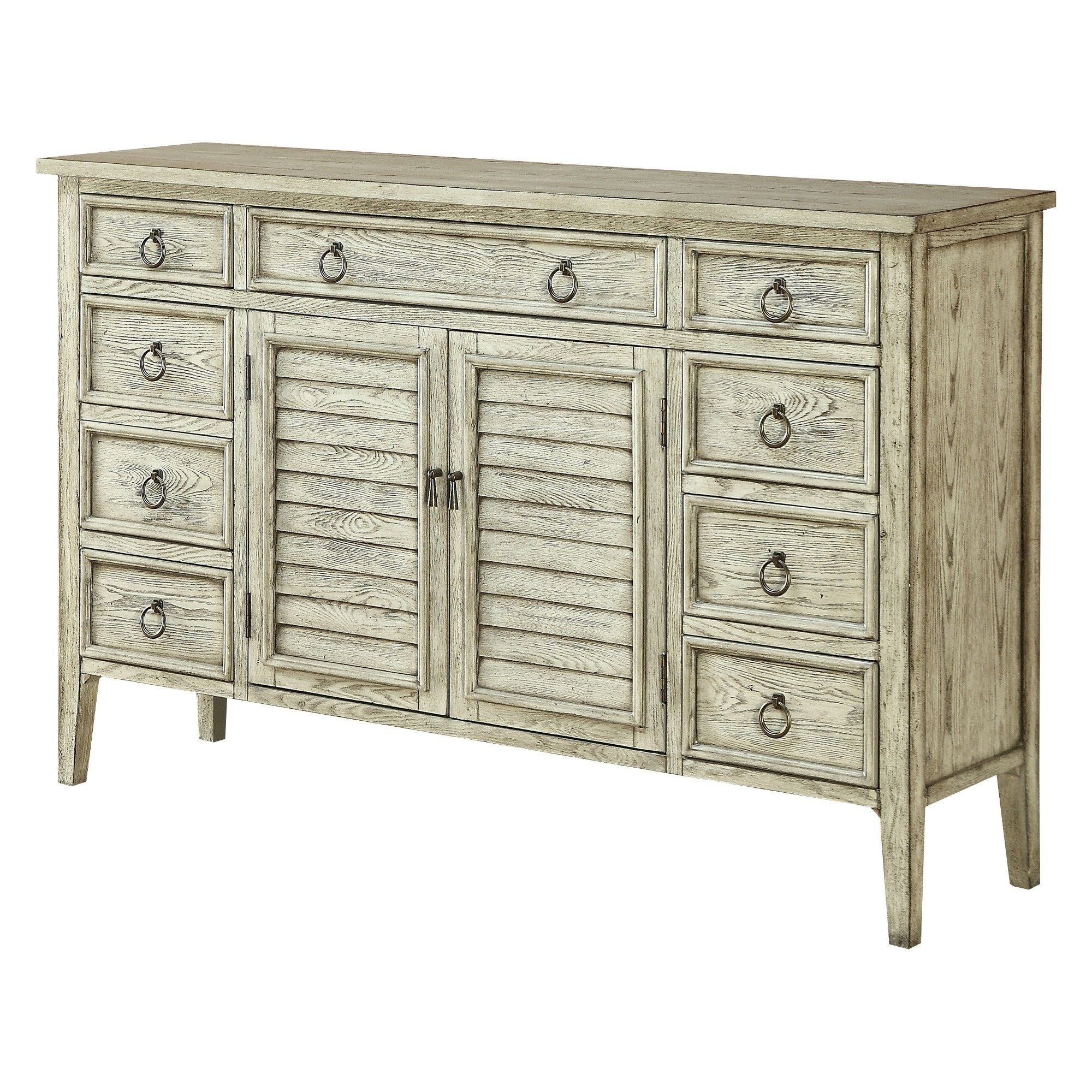 Christopher Knight Home Ivory Coast Credenza Ivory Rub Intended For Trendy Etienne Sideboards (Gallery 6 of 20)
