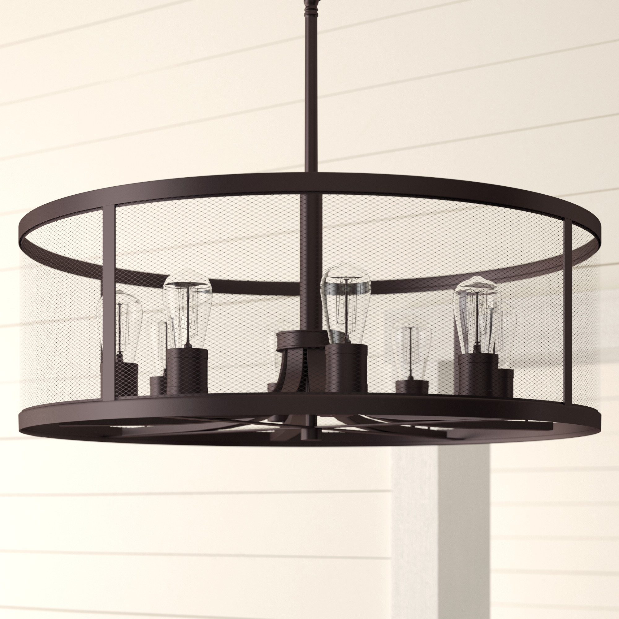 Clark 8 Light Chandelier Inside Most Popular Breithaup 4 Light Drum Chandeliers (Gallery 17 of 20)