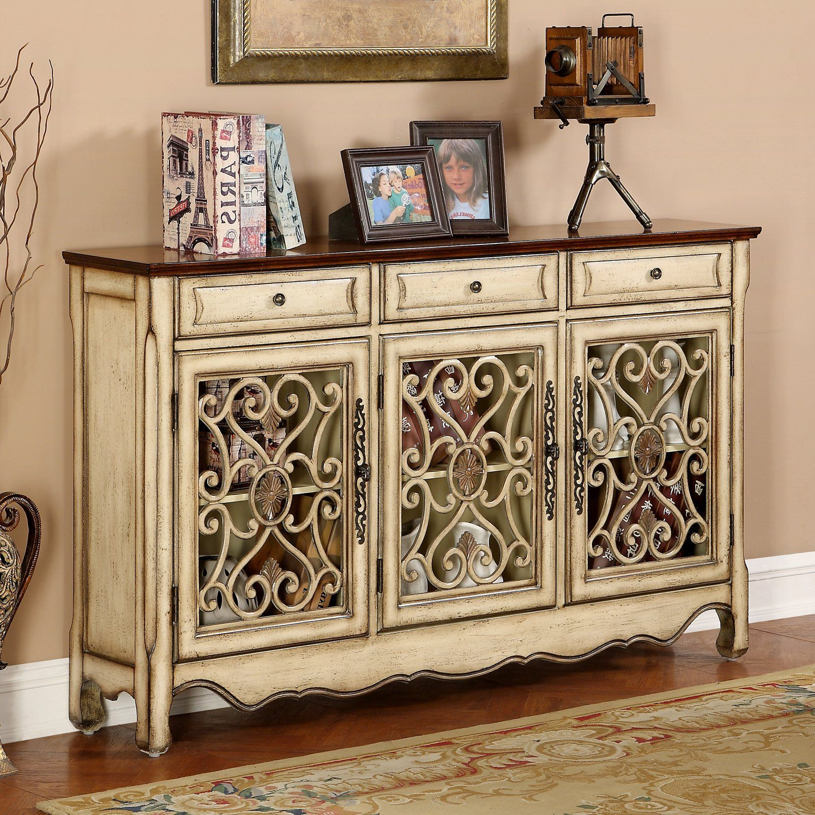 Coast To Coast 3 Drawer Credenza –  (View 1 of 20)