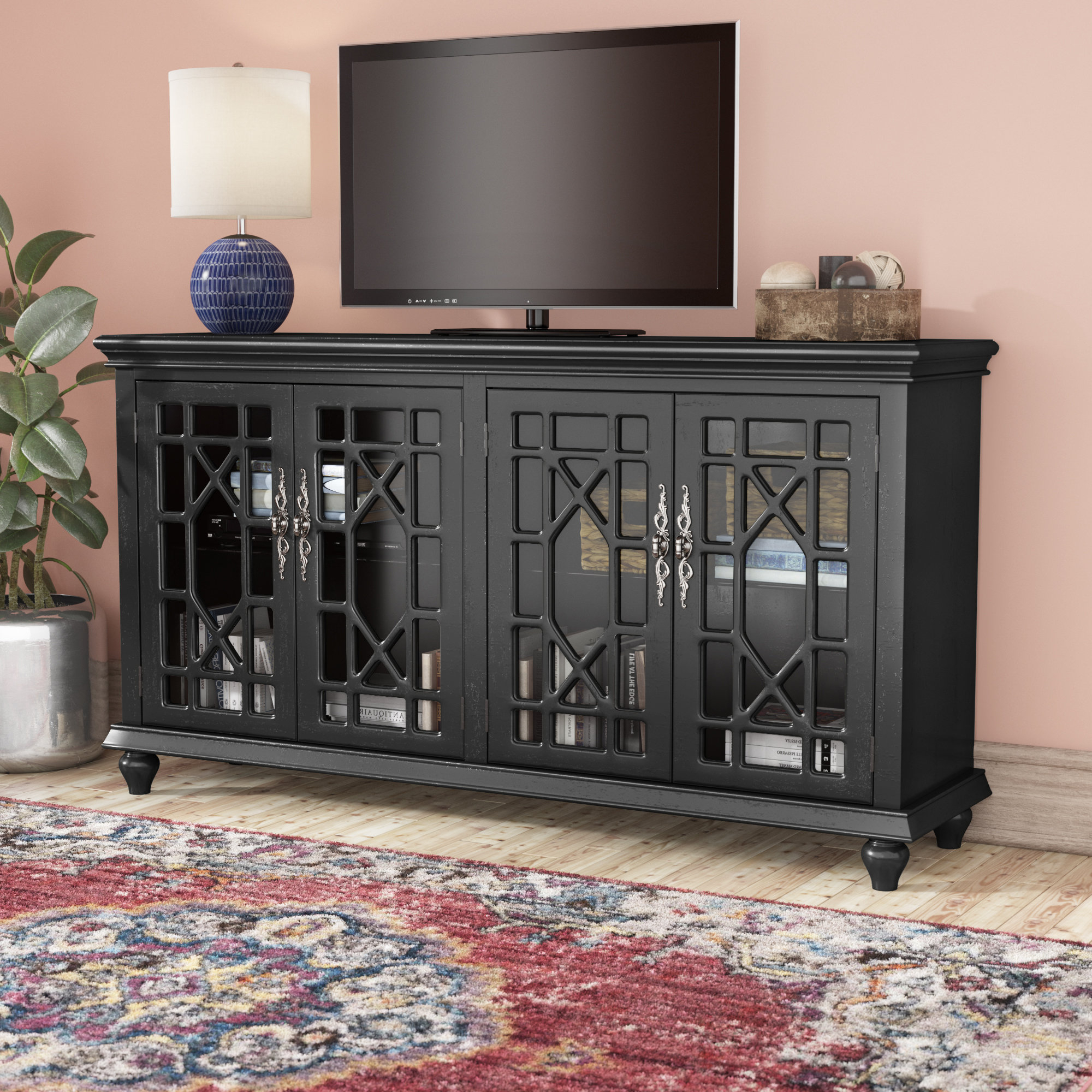 """Colefax Vintage Tv Stands For Tvs Up To 78"""" For Best And Newest Mistana Ira Tv Stand For Tvs Up To 70"""" (Gallery 9 of 20)"""