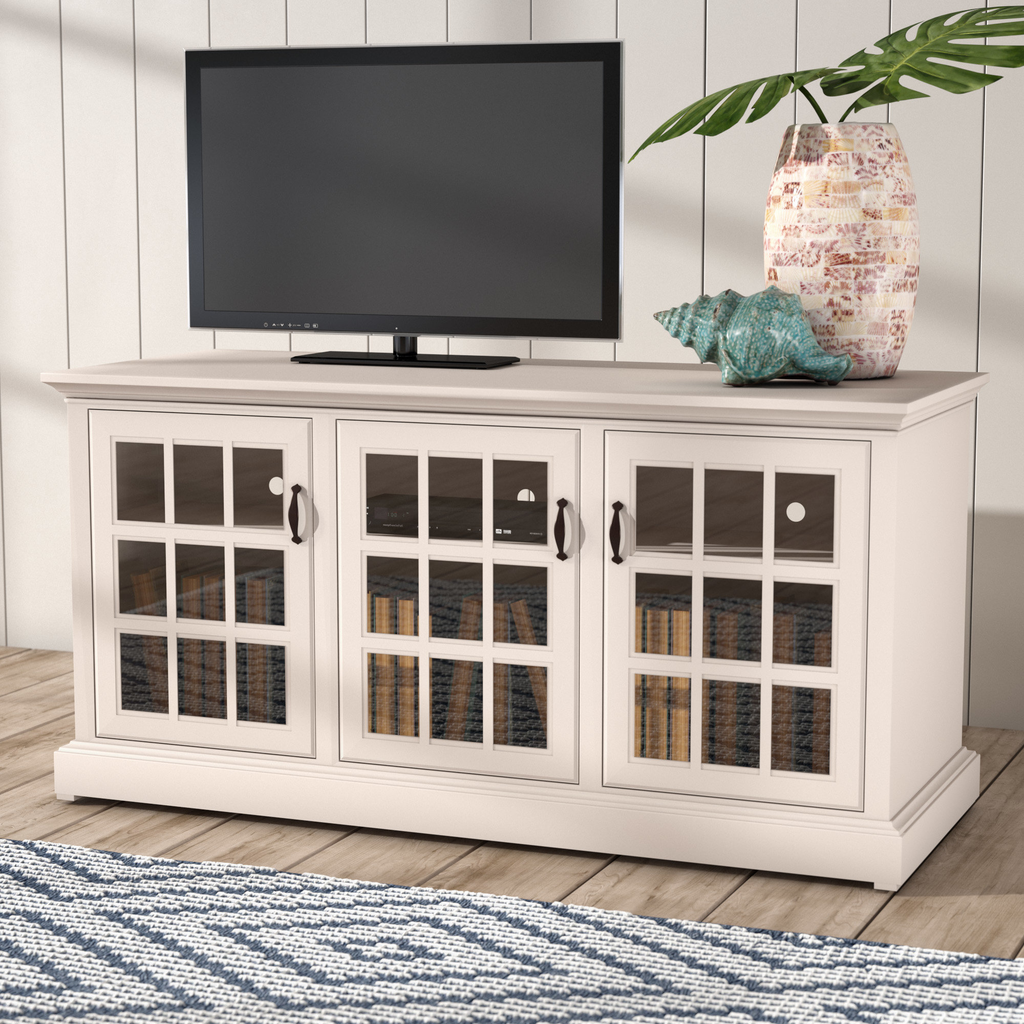 "Colefax Vintage Tv Stands For Tvs Up To 78"" In Well Liked Beachcrest Home Dartmouth Tv Stand For Tvs Up To (View 5 of 20)"