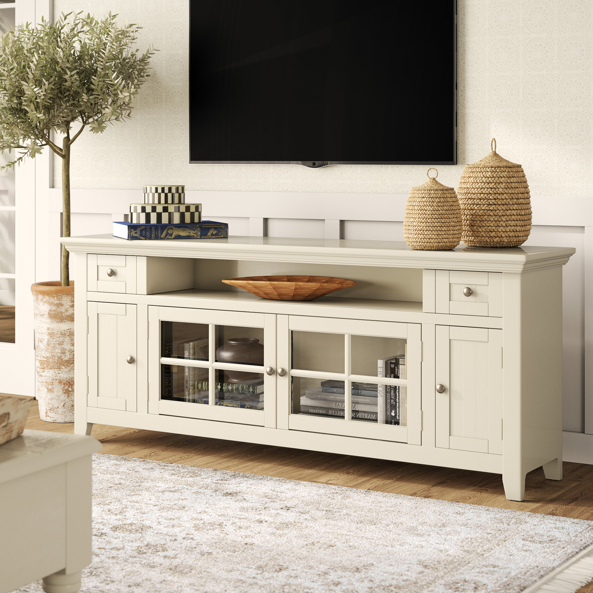 """Colefax Vintage Tv Stands For Tvs Up To 78"""" Regarding Newest Calila Tv Stand For Tvs Up To 70"""" (View 9 of 20)"""