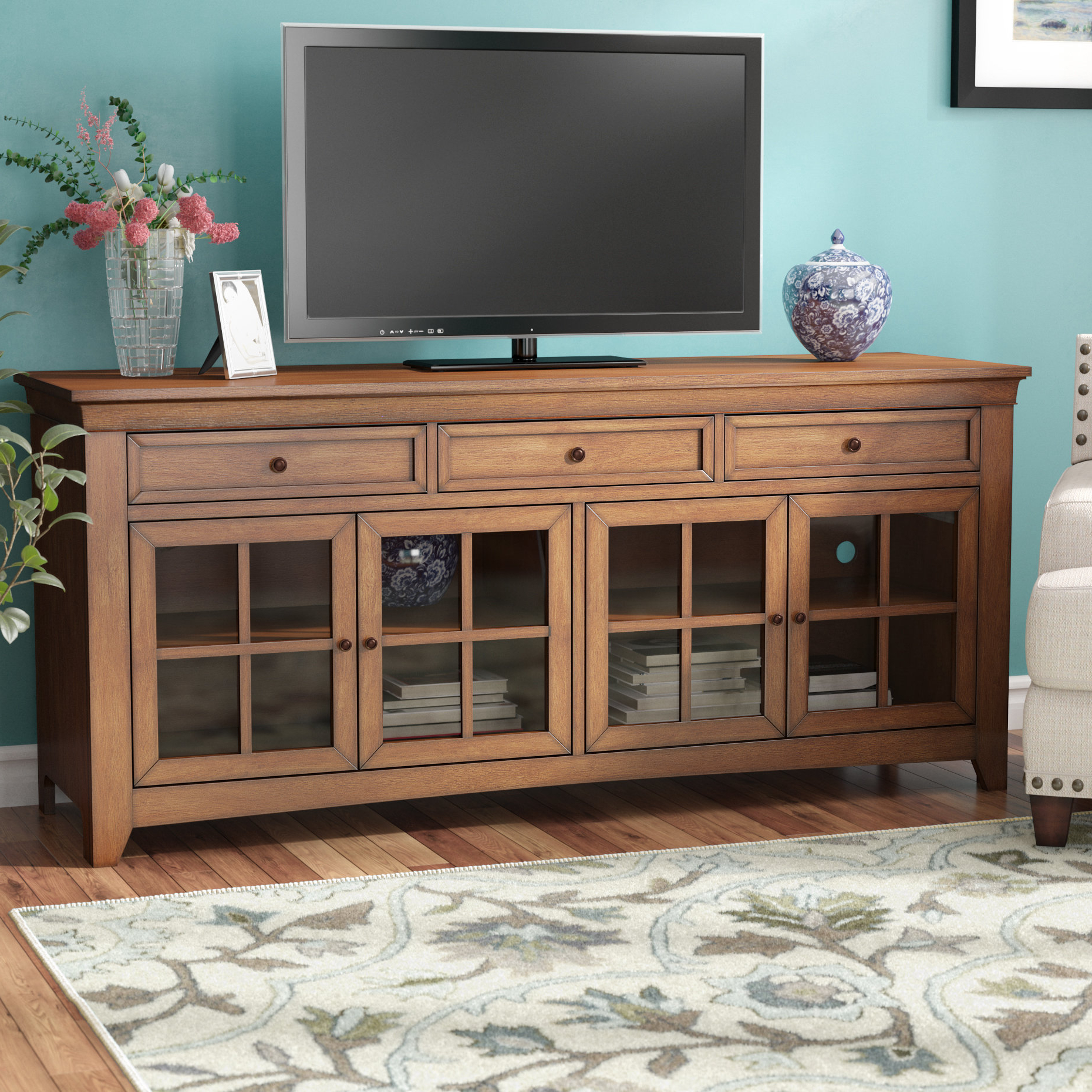 """Colefax Vintage Tv Stands For Tvs Up To 78"""" With Regard To Widely Used Alcott Hill Nido Tv Stand For Tvs Up To 70"""" (View 11 of 20)"""