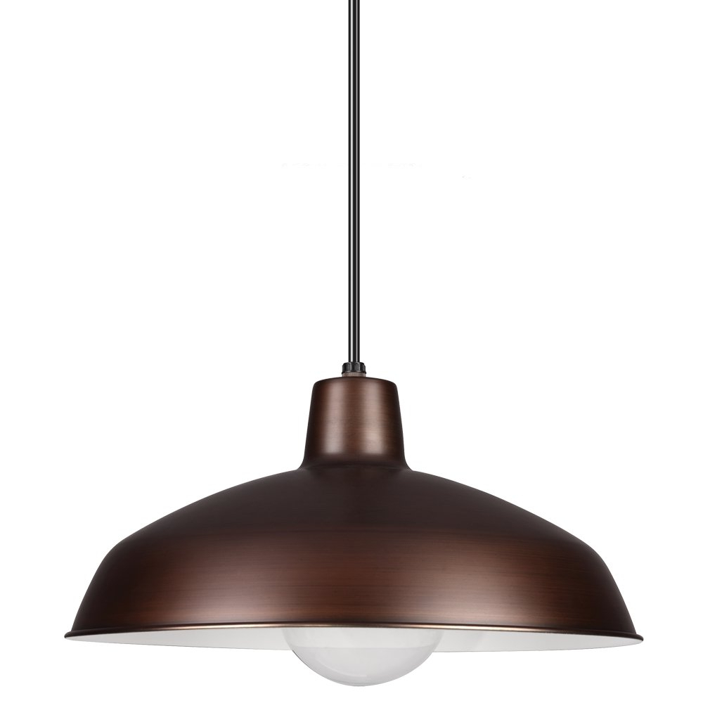 Conover 1 Light Dome Pendants In Recent Mendelson 1 Light Dome Pendant (Gallery 5 of 20)