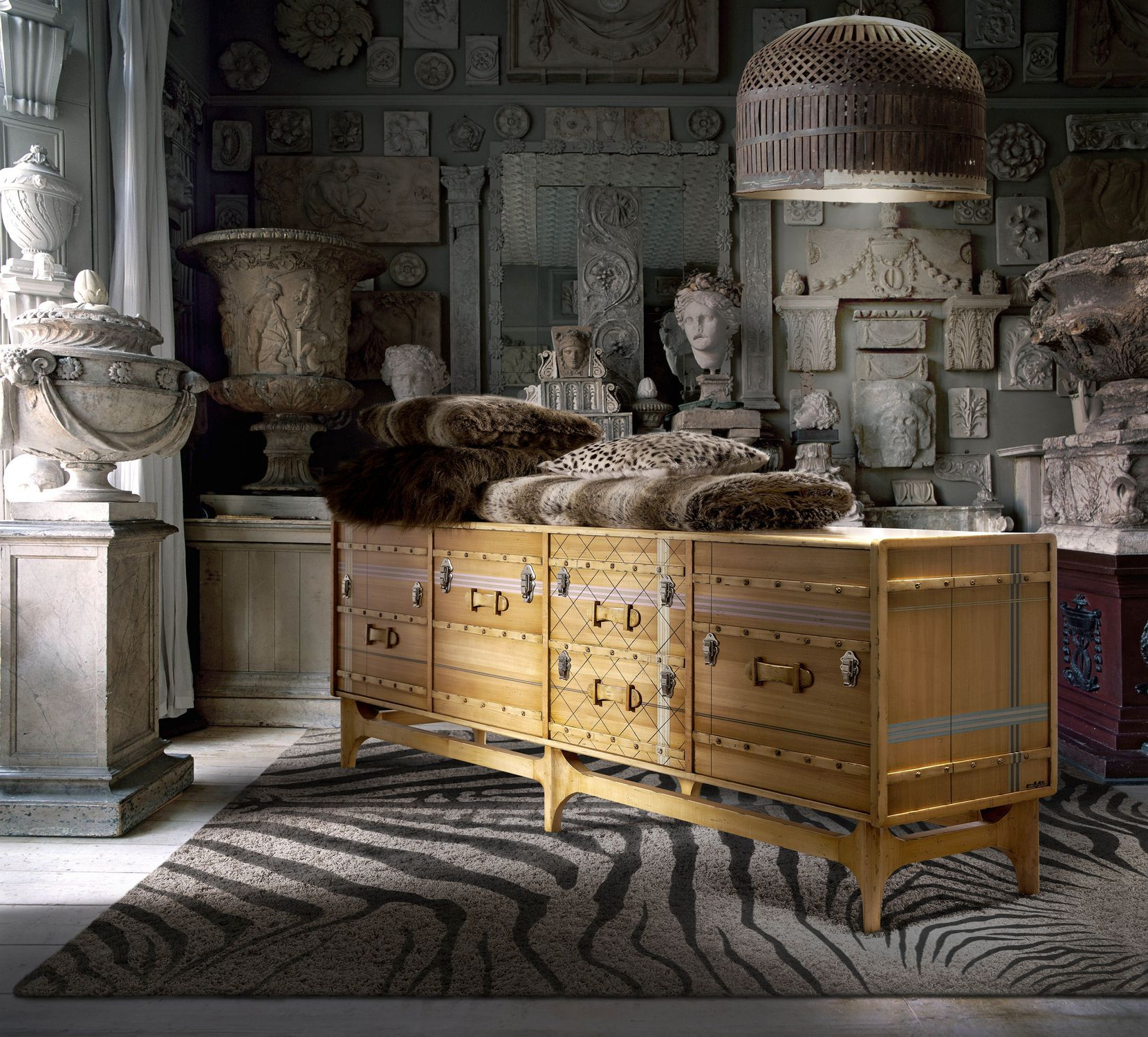 Contemporary Sideboard / Wooden / Custom – Suitcase: Ltv Throughout Well Known Lola Sideboards (View 5 of 20)