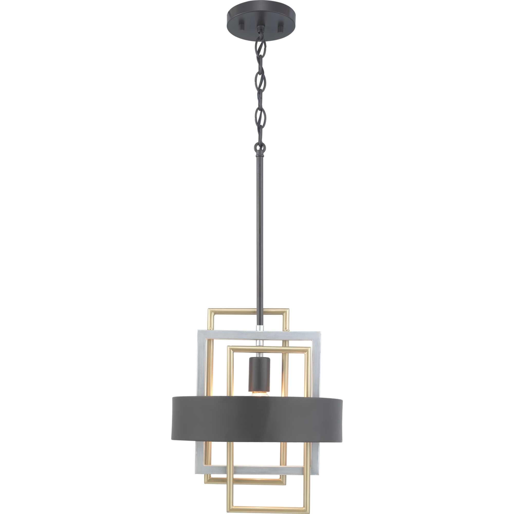 Coralie 1 Light Geometric Pendant Within Trendy Callington 1 Light Led Single Geometric Pendants (View 18 of 20)