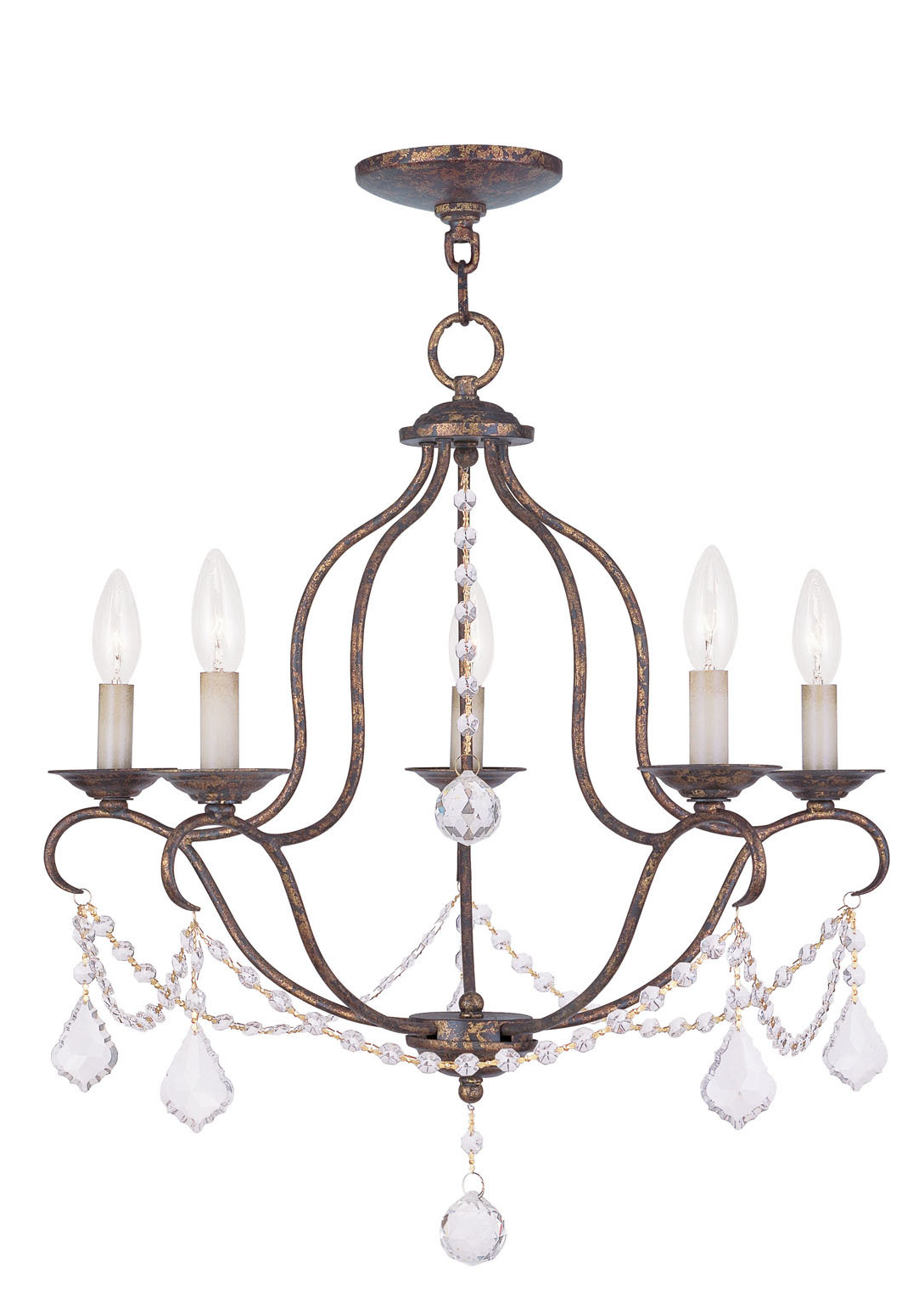 Corneau 5 Light Chandeliers With Popular Accomac 5 Light Candle Style Chandelier (View 11 of 20)