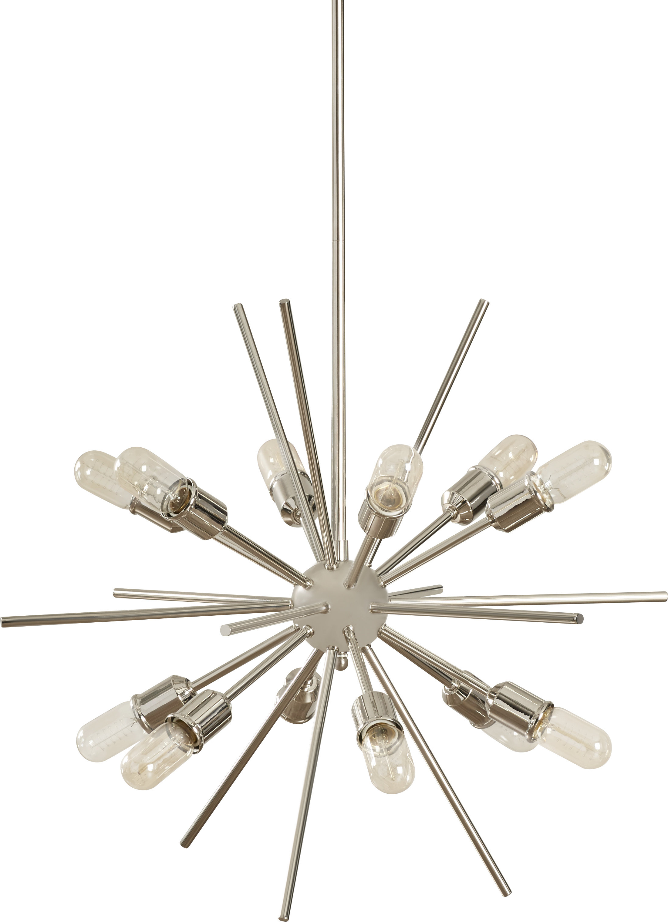 Corona 12 Light Sputnik Chandeliers In Well Liked Corona 12 Light Sputnik Chandelier (Gallery 3 of 20)