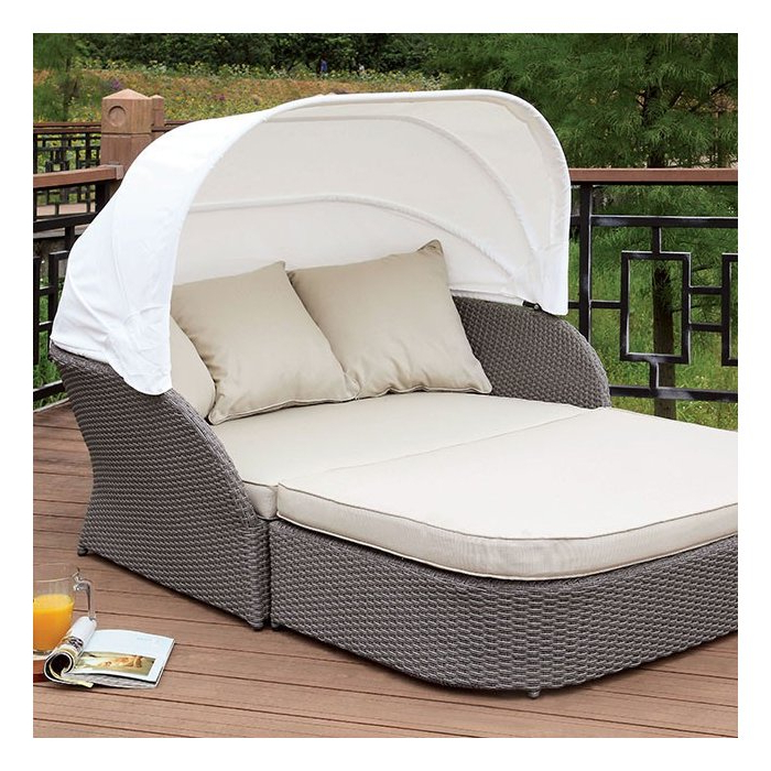 Coronado Patio Daybed With Cushions Within Most Popular Aubrie Patio Daybeds With Cushions (Gallery 7 of 20)
