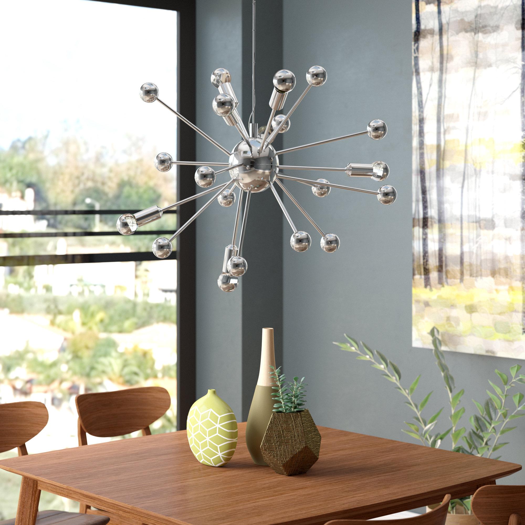 Featured Photo of Bacchus 12 Light Sputnik Chandeliers