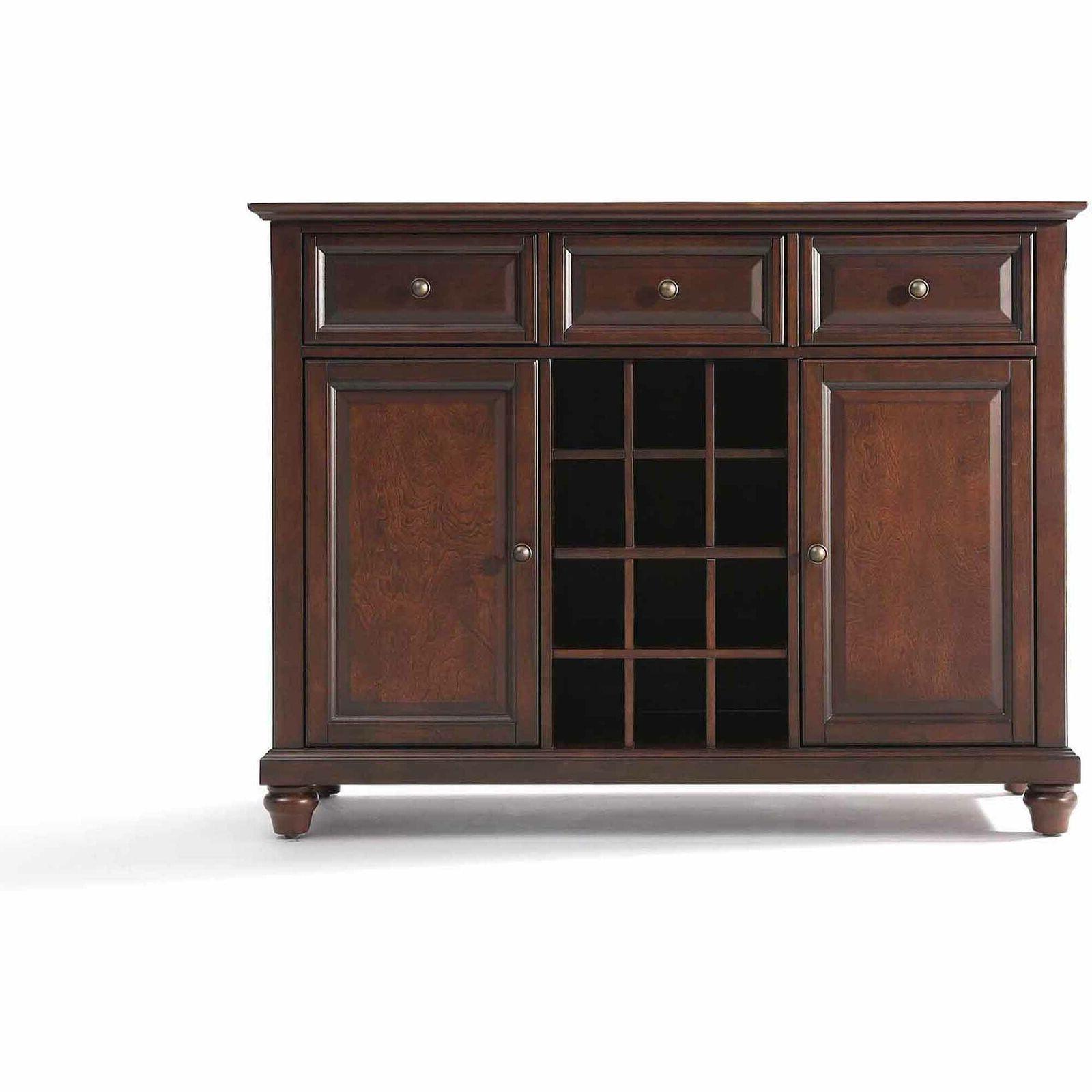 Current Cambridge Buffet Server / Sideboard Cabinet With Wine Storage For Cher Sideboards (View 7 of 20)