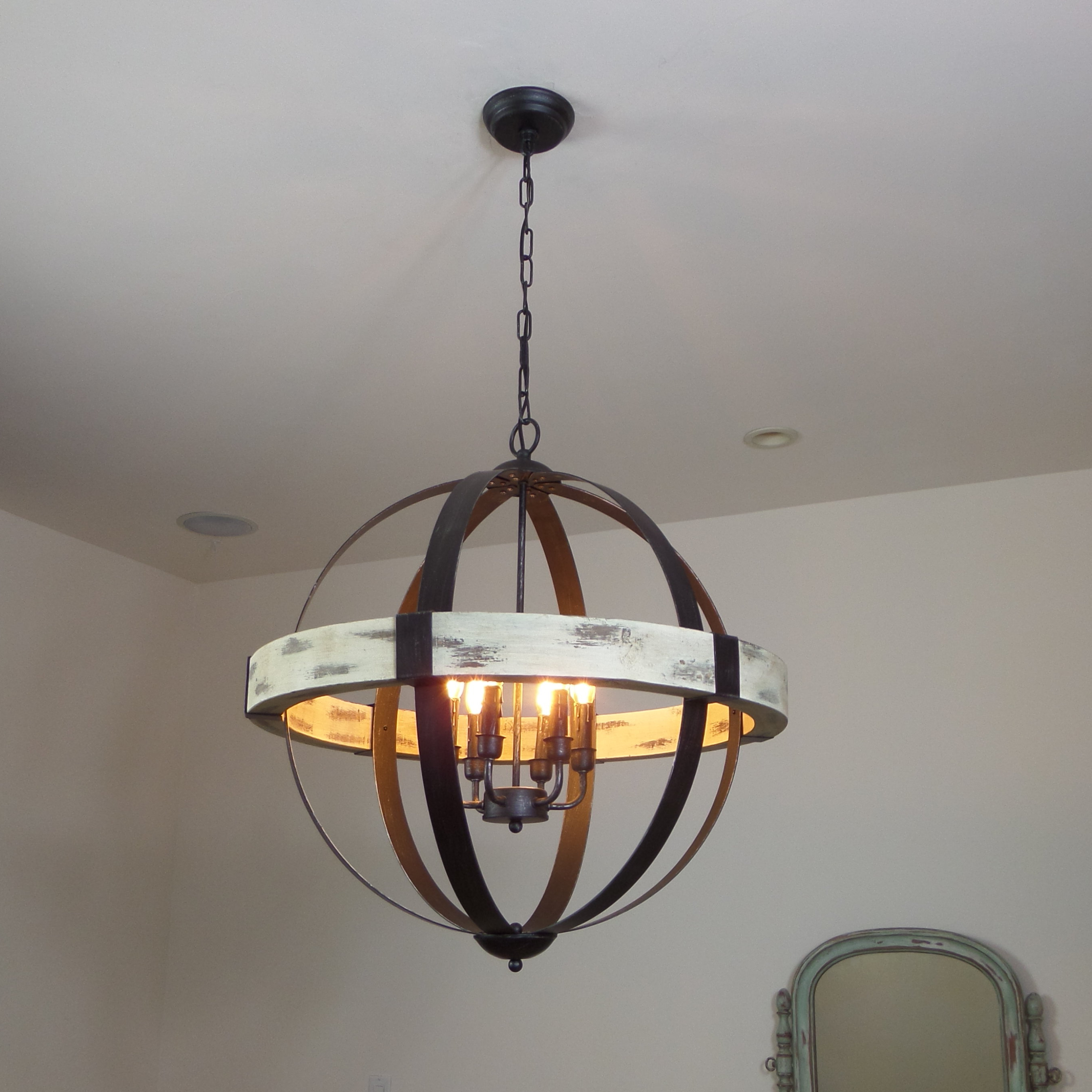 Current Cannella 6 Light Globe Chandelier Regarding Donna 6 Light Globe Chandeliers (View 11 of 20)