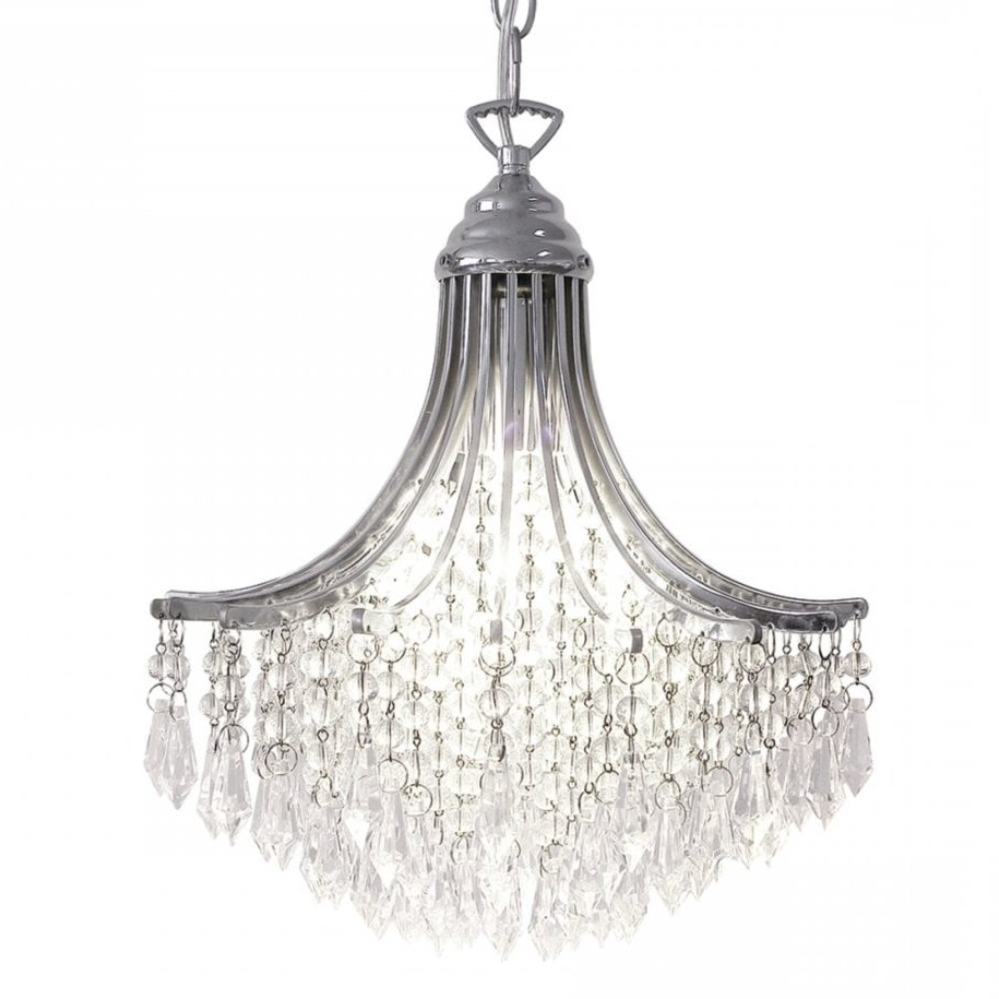 Current Cayden 1 Light Single Globe Pendants For Suri Light Pendant Crystal Polished Chrome P55375 Image (View 17 of 20)