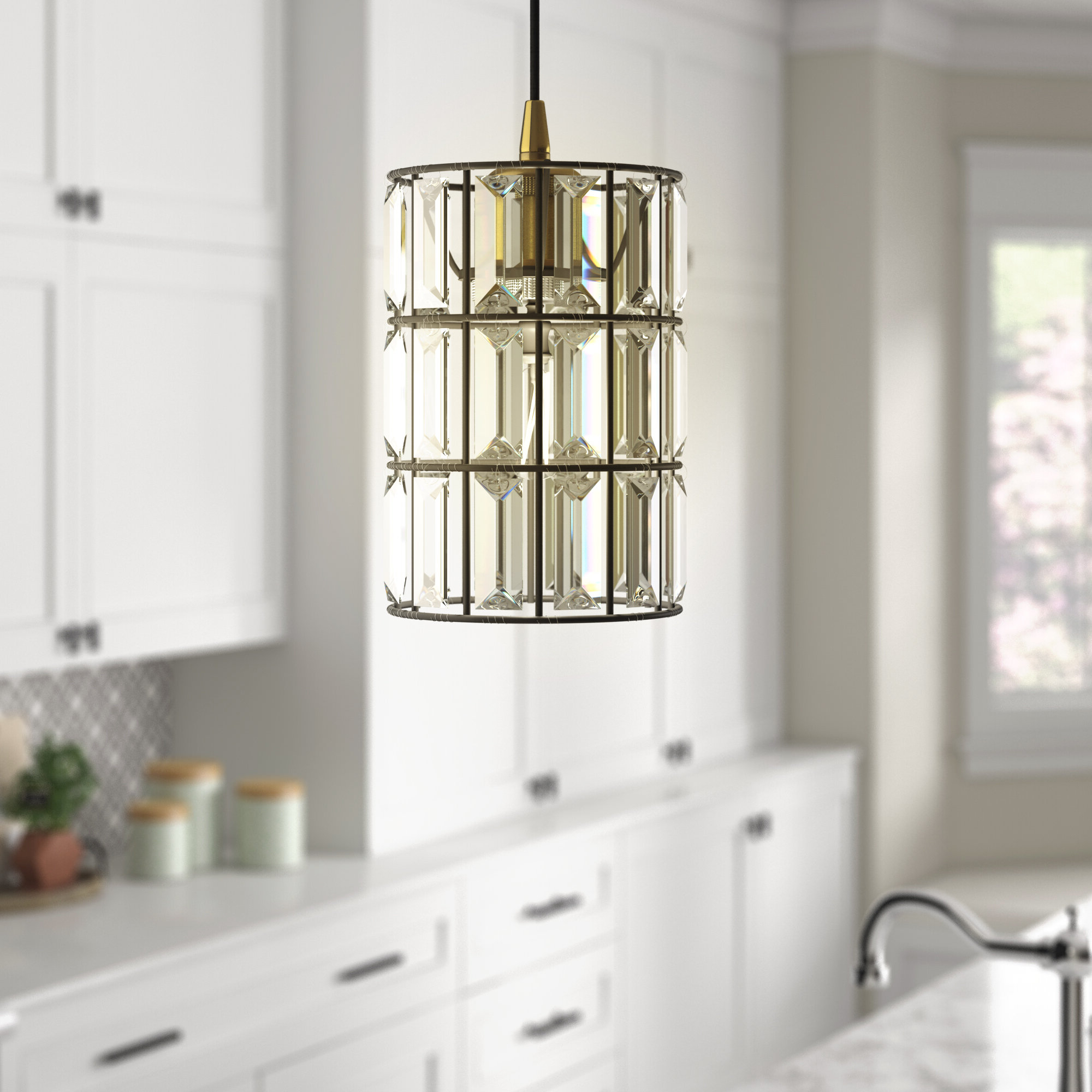 Current Colston 1 Light Single Cylinder Pendant Intended For Kraker 1 Light Single Cylinder Pendants (Gallery 2 of 20)