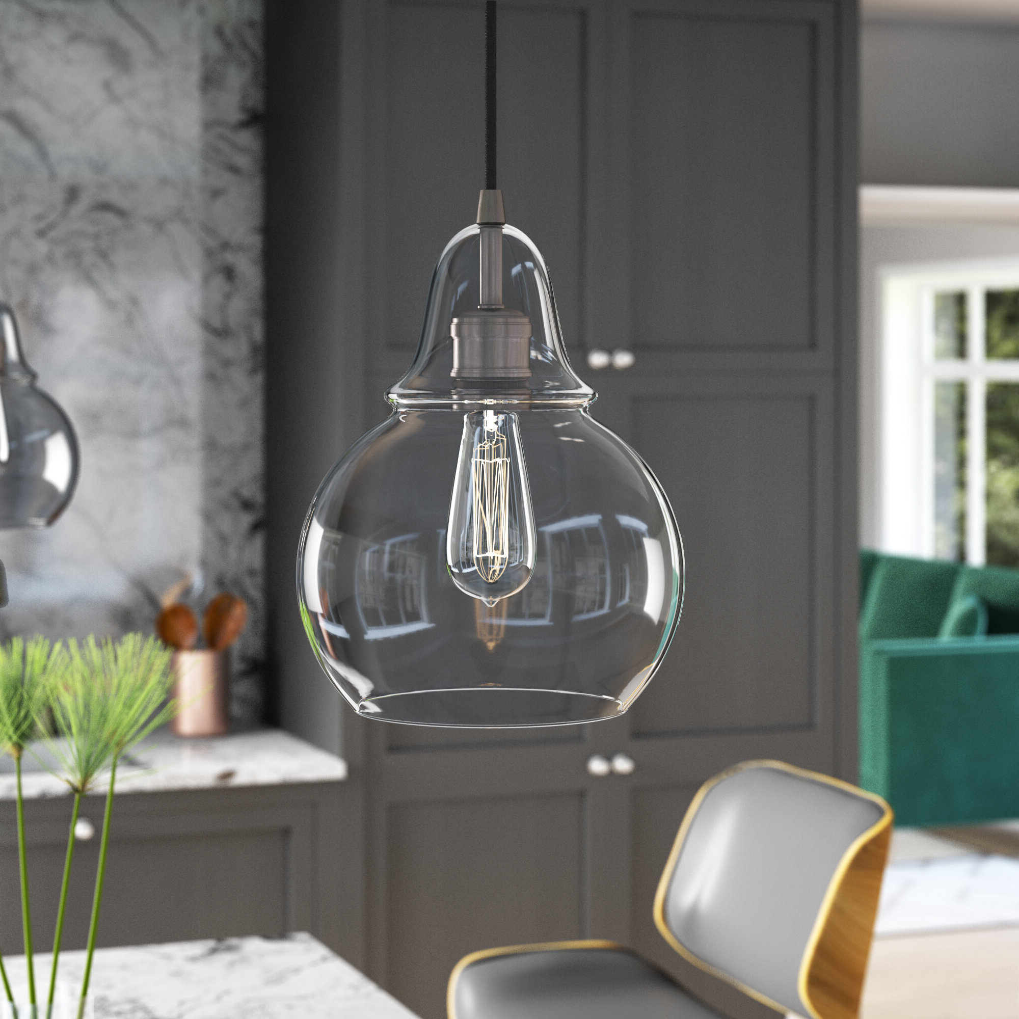 Current Conard 1 Light Single Teardrop Pendants With Conard 1 Light Single Teardrop Pendant (Gallery 1 of 20)