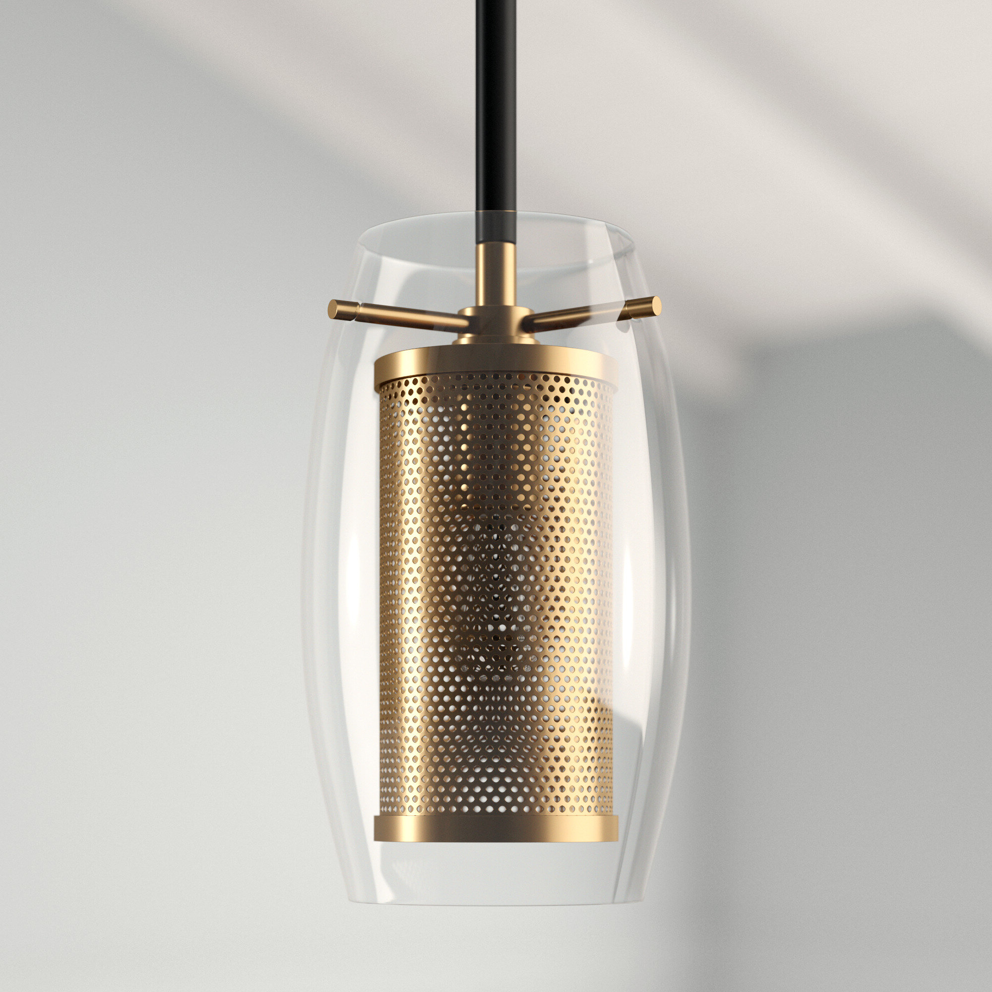 Current Depp 1 Light Single Cylinder Pendant With Giacinta 1 Light Single Bell Pendants (View 2 of 20)