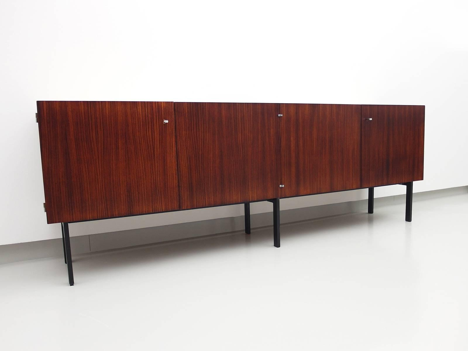 Current Etienne Sideboards In Rosewood Sideboard Attributed To Etienne Fermigier For Meubles Et Fonction,   (View 10 of 20)