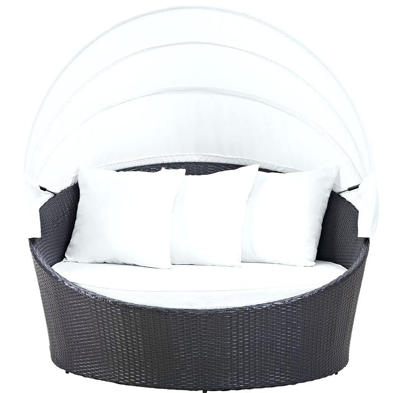 Current Freeport Patio Daybeds With Cushion Pertaining To Round Patio Daybed – Olinconboy (View 2 of 20)
