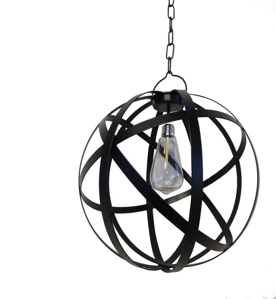 Current G Light Collection Led Battery Operated Outdoor Globe Gazebo Regarding Prange 1 Light Single Globe Pendants (View 3 of 20)