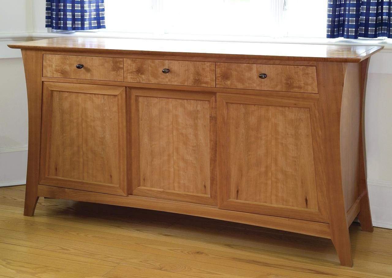 Current Gorgeous Small Shallow Sideboard Village Room Furniture Throughout Annecy Sideboards (View 11 of 20)