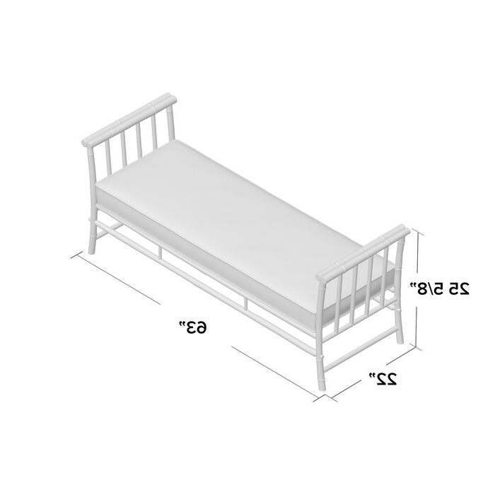 Current Grosvenor Bamboo Patio Daybeds With Cushions Intended For Grosvenor Bamboo Patio Daybed With Cushions (View 4 of 20)