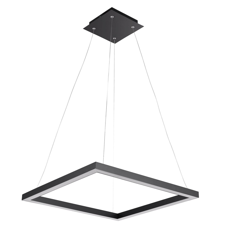 Current Heflin 1 Light Led Single Square Pendant With Regard To Callington 1 Light Led Single Geometric Pendants (Gallery 11 of 20)
