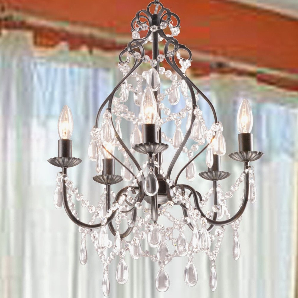 Current Hesse 5 Light Candle Style Chandeliers In Wilkerson 5 Light Chandelier (Gallery 5 of 20)
