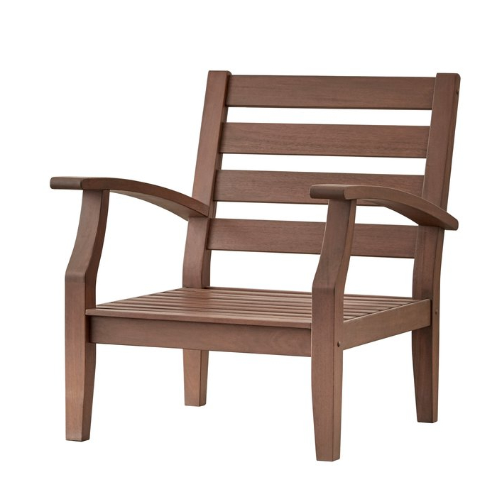 Current Hursey Patio Chair With Sunbrella Cushions Regarding Hursey Patio Sofas (Gallery 5 of 20)