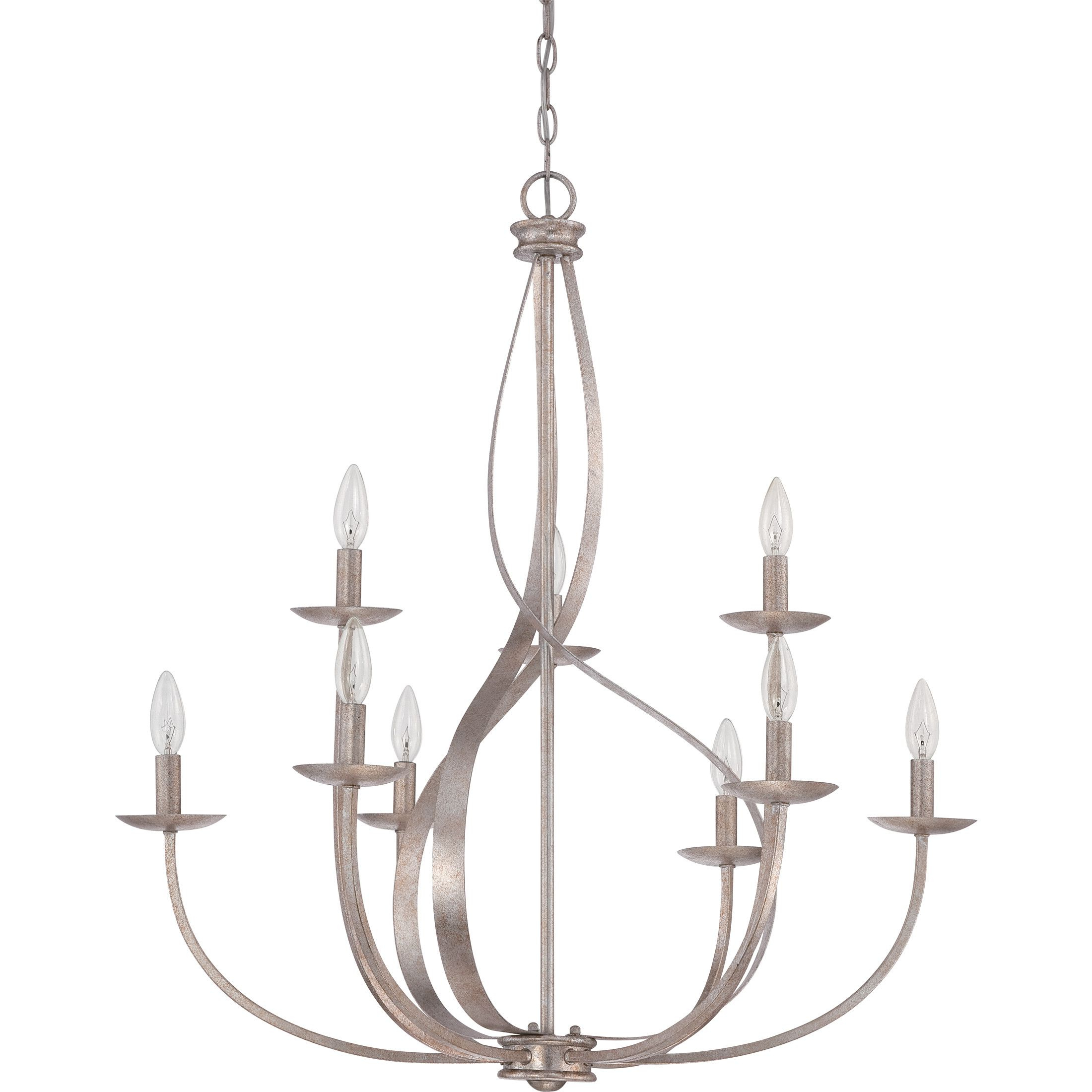 Current Lark Manor™ Emely 9 Light Candle Style Chandelier (View 10 of 20)