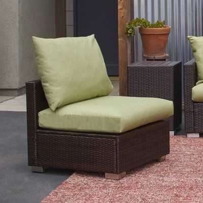 Current Mcmanis Patio Sofas With Cushion Within Ivy Bronx Mcmanis Outdoor Patio Chair With Sunbelievable (View 4 of 20)
