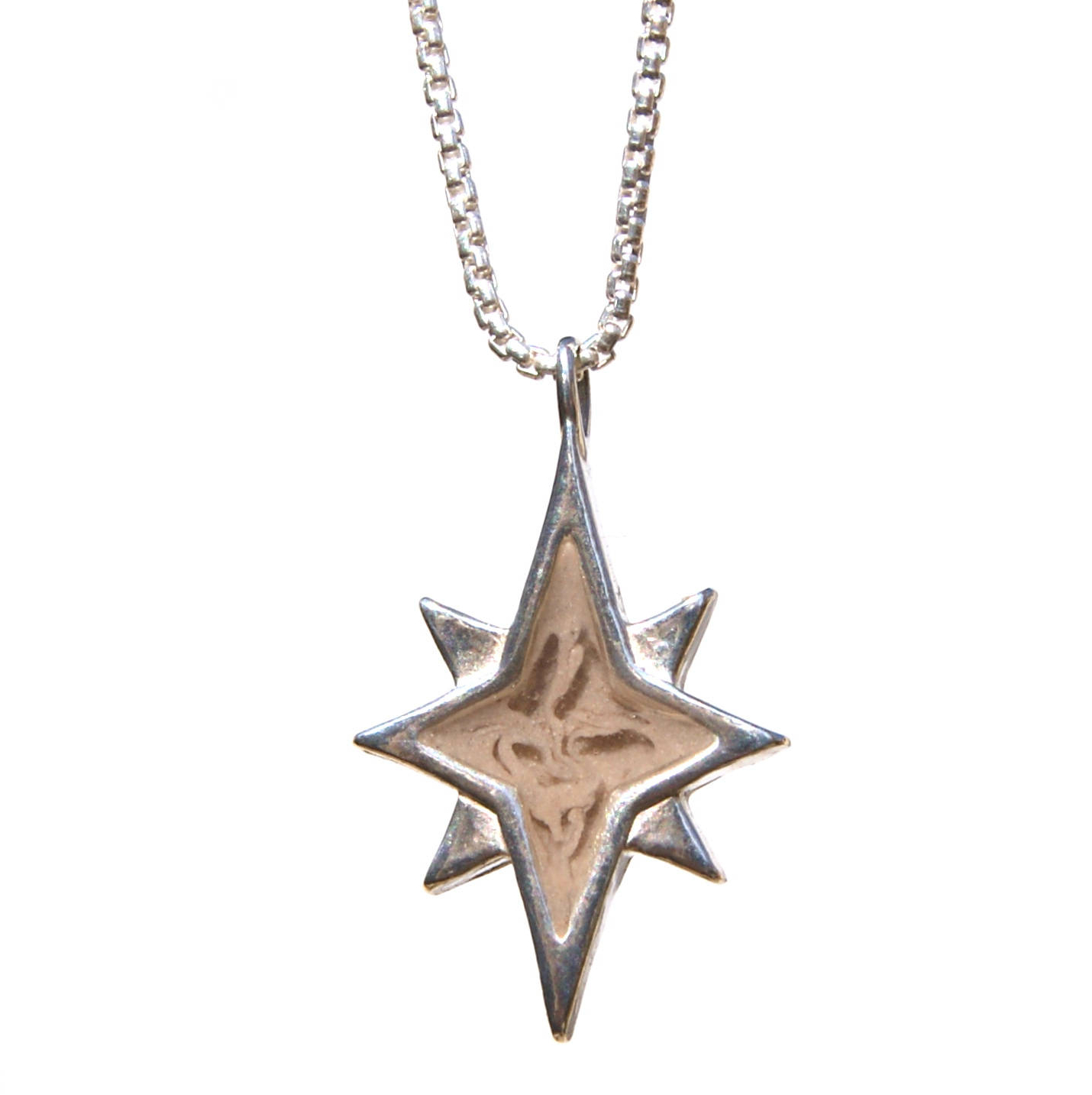 Current Spokane 1 Light Single Urn Pendants For North Star Cremation Necklace – Sterling Silver Pet Ashes Necklace (Gallery 20 of 20)