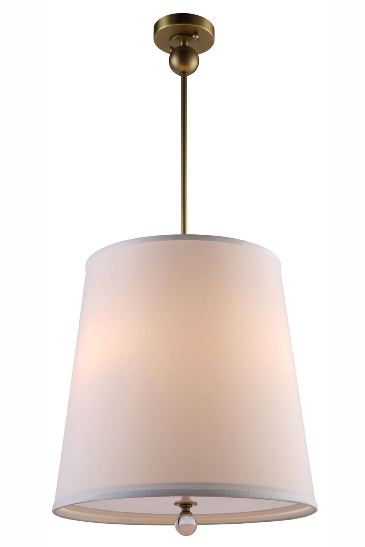 Current Vicenta 3 Light Cone Pendant Throughout Friedland 3 Light Drum Tiered Pendants (View 2 of 20)