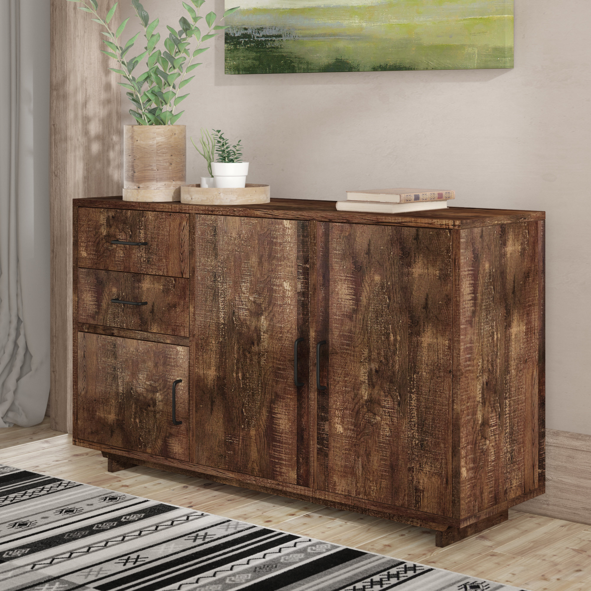 Curved Sideboard (View 3 of 20)