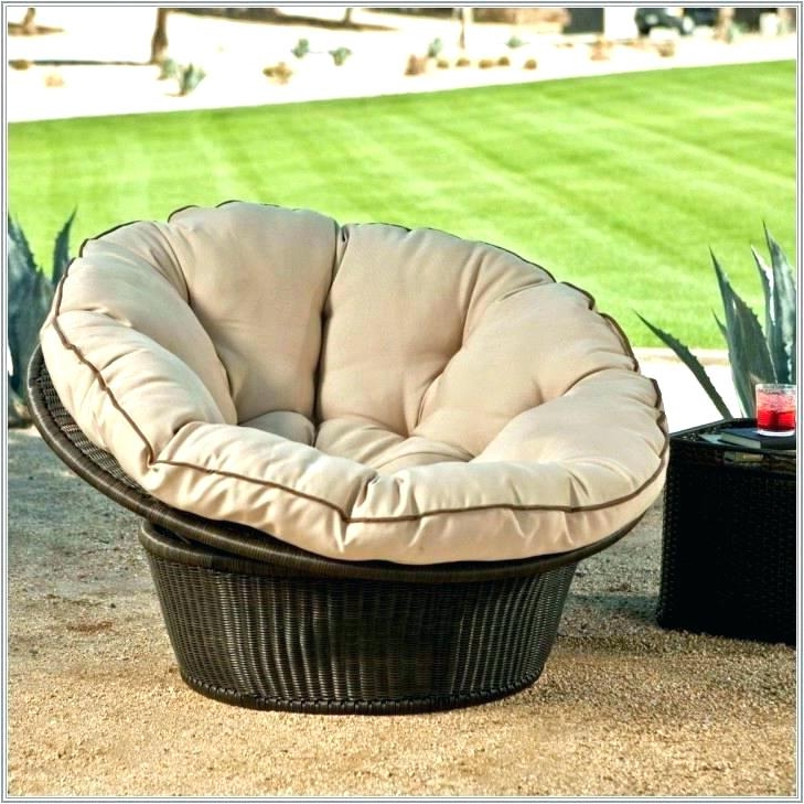 Daybed Round Cushion Pertaining To 2019 Olu Bamboo Large Round Patio Daybeds With Cushions (View 3 of 20)