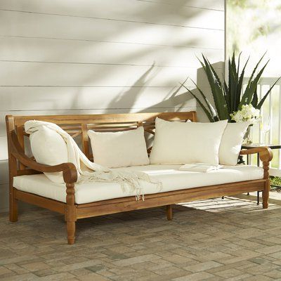 Decoration Office& Within Well Known Roush Teak Patio Daybeds With Cushions (View 4 of 20)