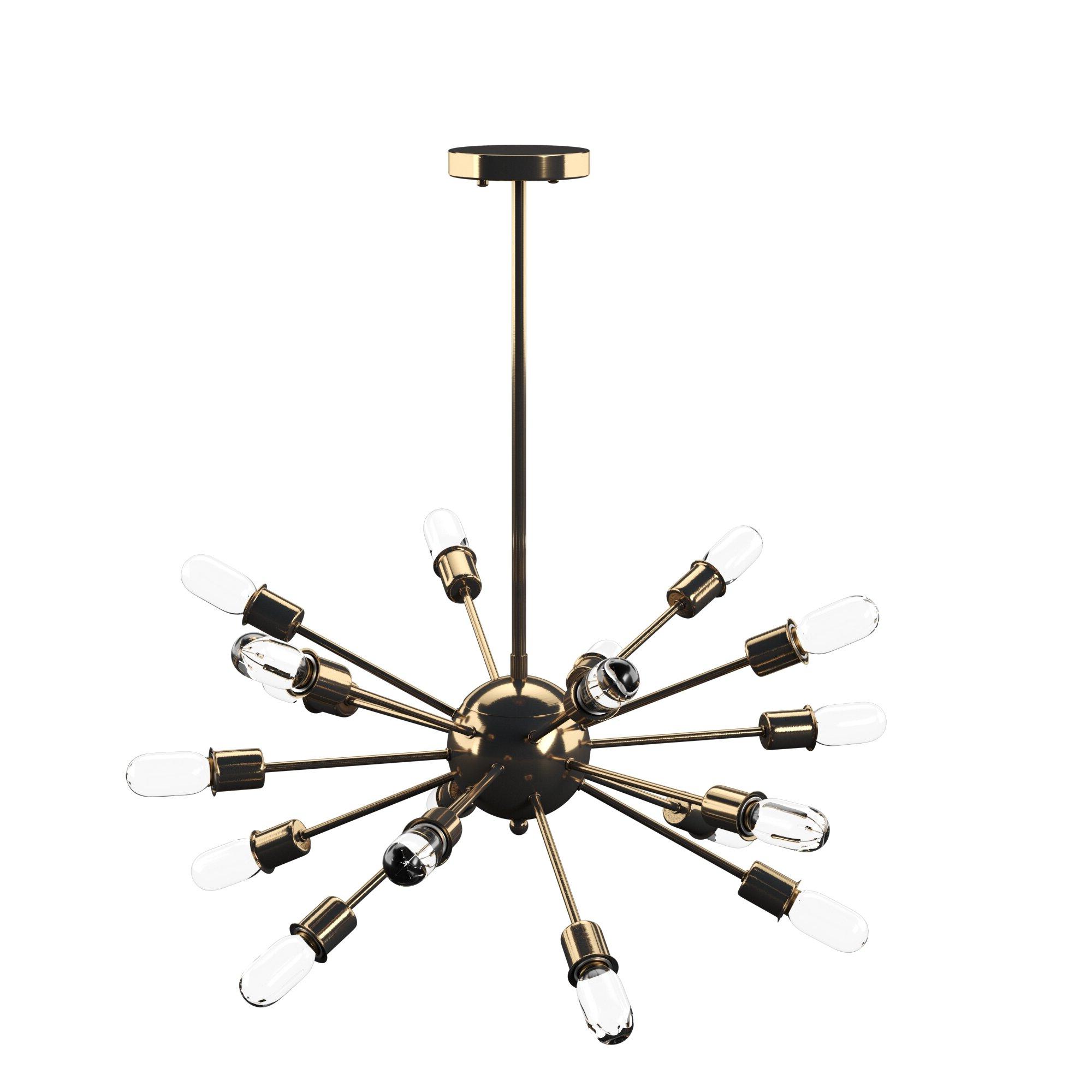 Featured Photo of Defreitas 18 Light Sputnik Chandeliers
