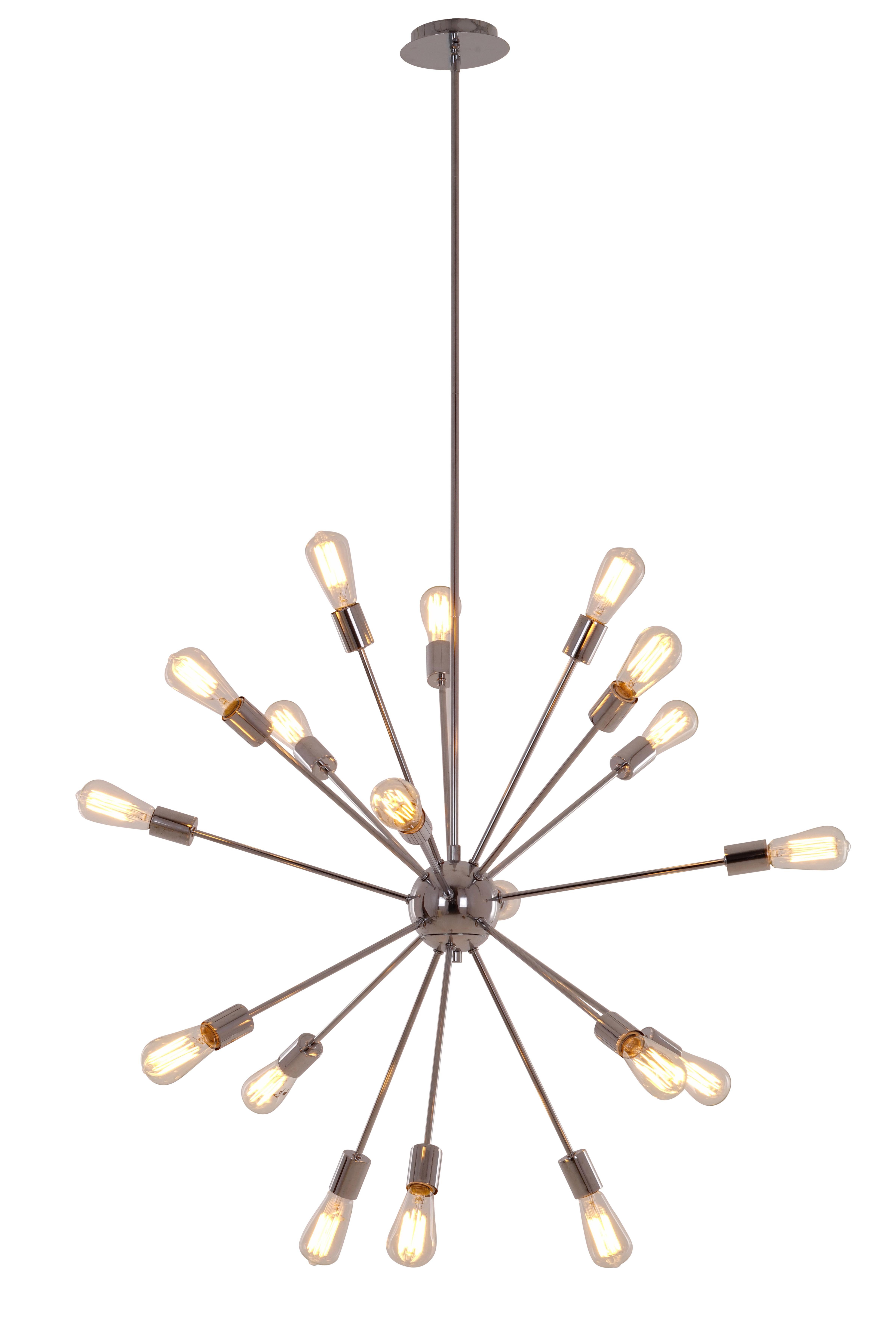 Defreitas 18 Light Sputnik Chandeliers For 2019 Bach 18 Light Chandelier (View 17 of 20)