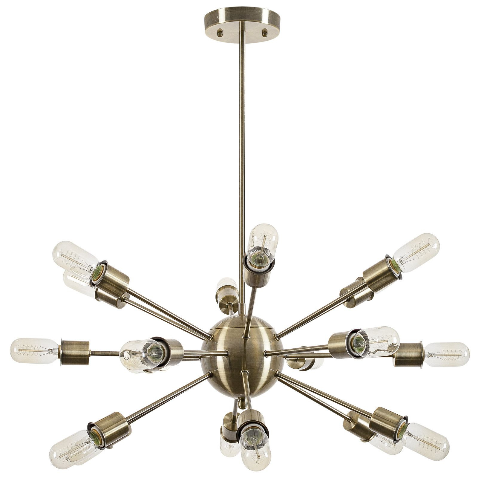 Defreitas 18 Light Sputnik Chandeliers Throughout Most Recently Released Sputnik 18 Light Chandelier (Gallery 7 of 20)