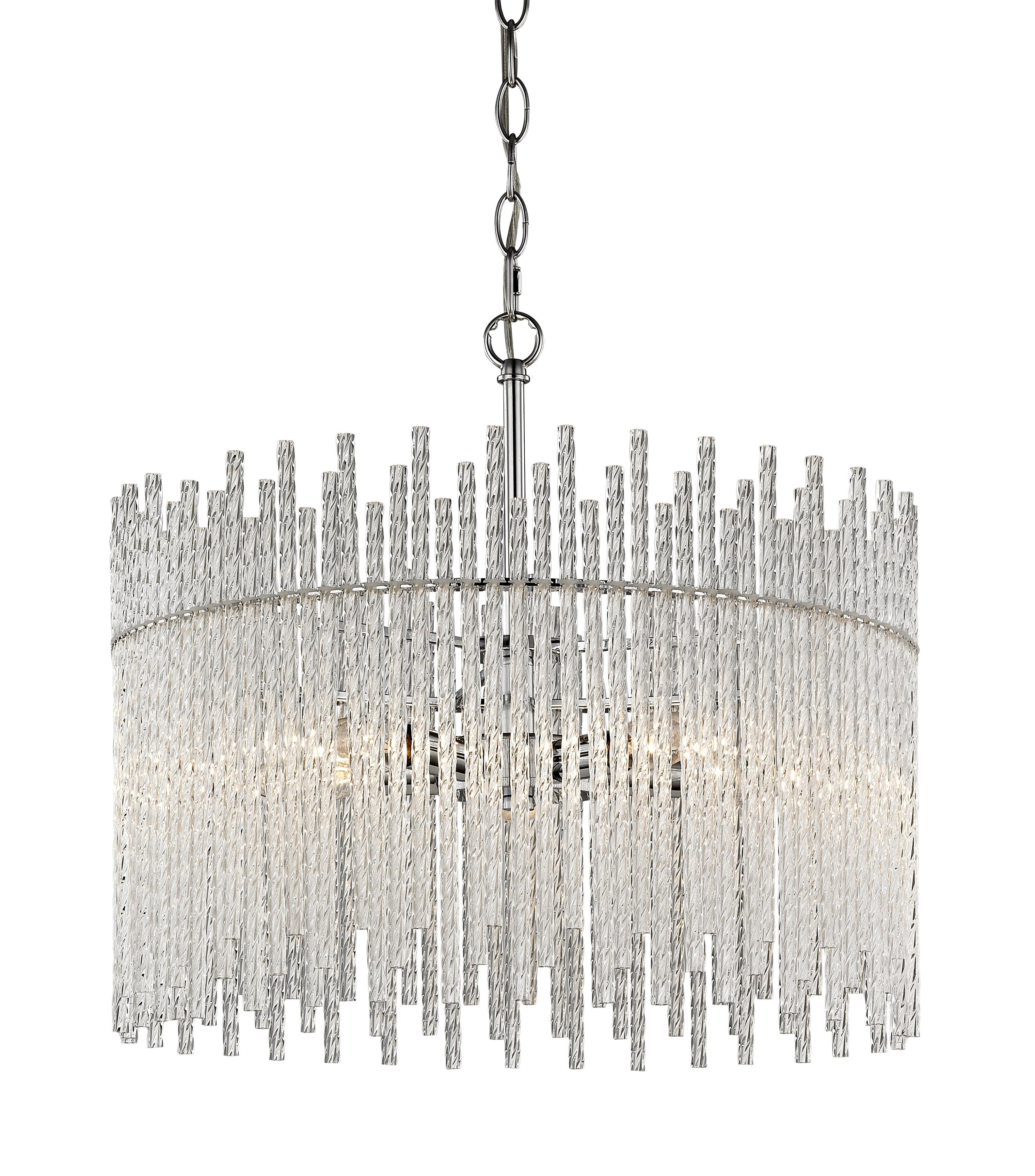 Desideria 5 Light Chandelier Regarding Trendy Benedetto 5 Light Crystal Chandeliers (Gallery 2 of 20)