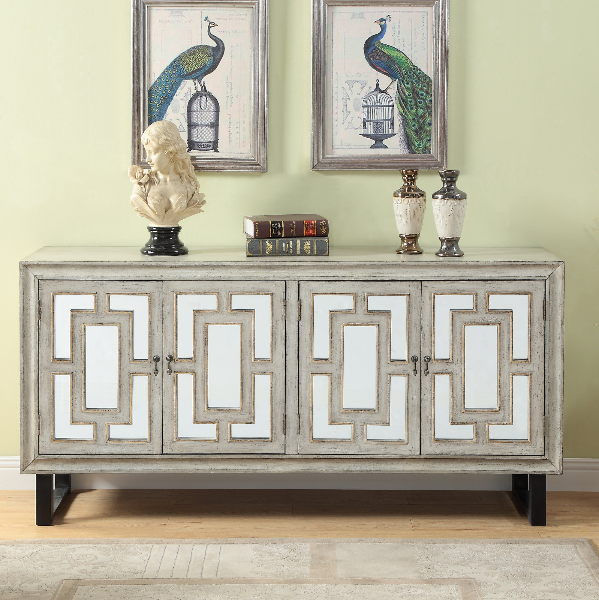 Details About Bloomsbury Market Ethelinda Media Credenza Within Most Up To Date Errol Media Credenzas (Gallery 4 of 20)