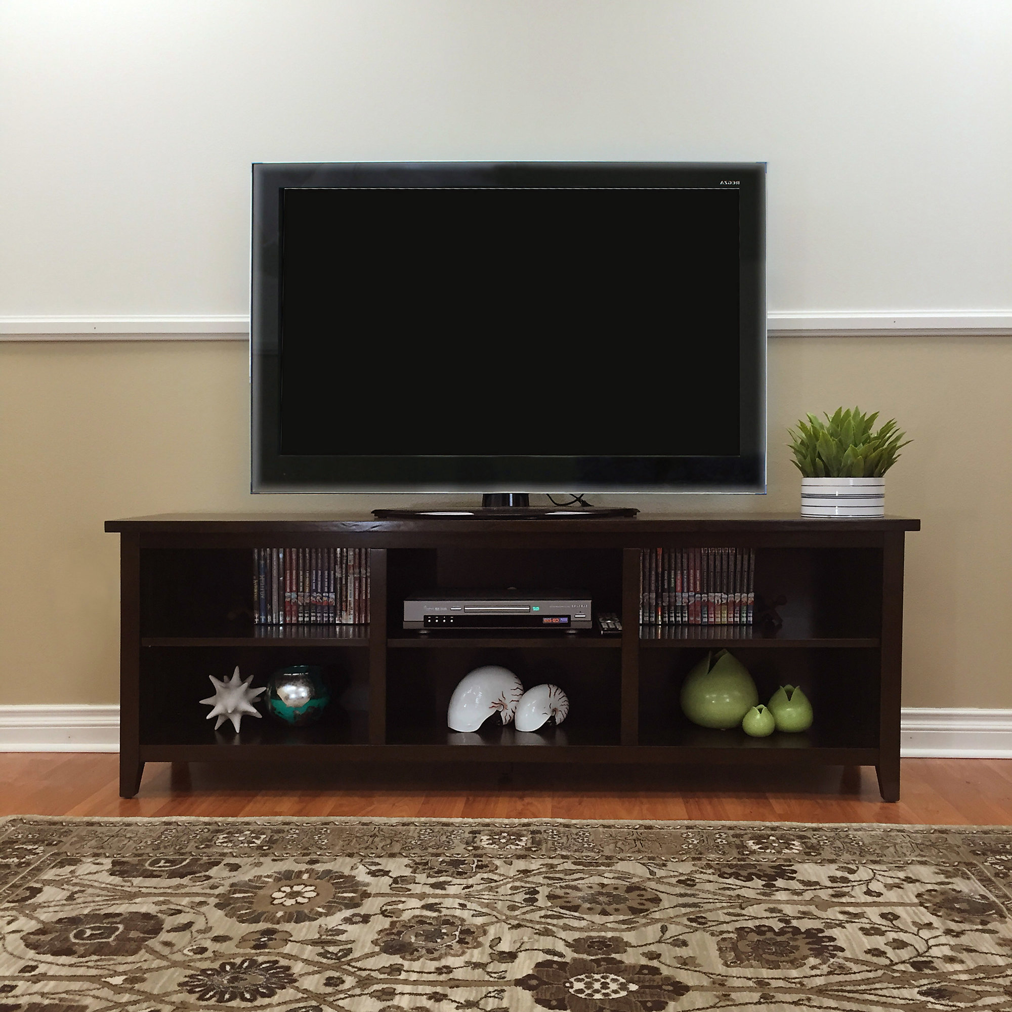 """Details About Red Barrel Studio Fella Tv Stand For Tvs Up To 78"""" In Most Popular Ericka Tv Stands For Tvs Up To 42"""" (View 8 of 20)"""